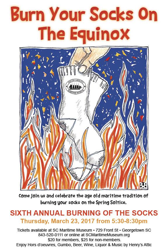 Burning of the Socks - 2017 postcard.jpg