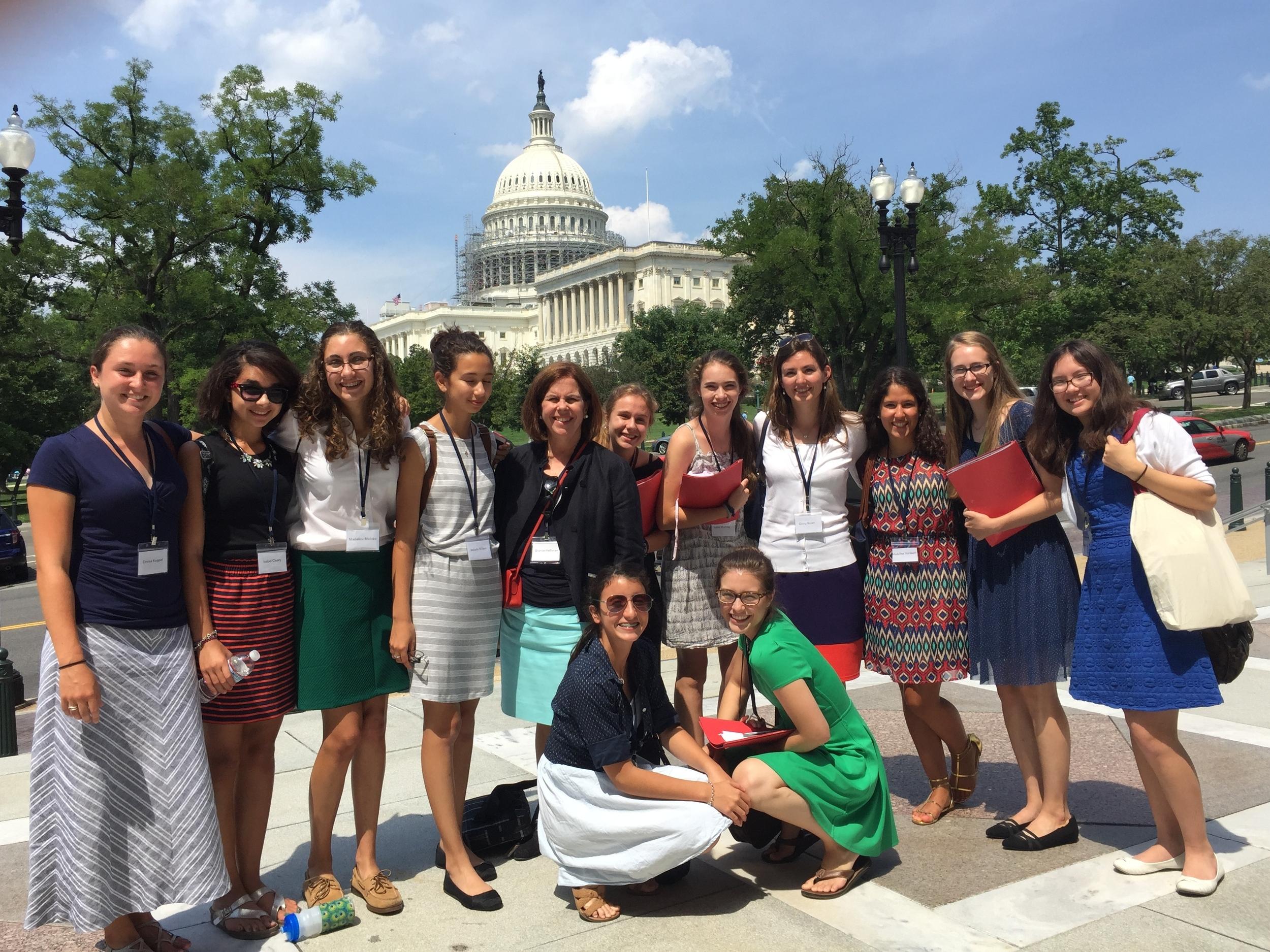 Visit to Congress
