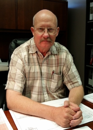 Terry Engeldow at the UCEC headquarters in Arvada, CO.