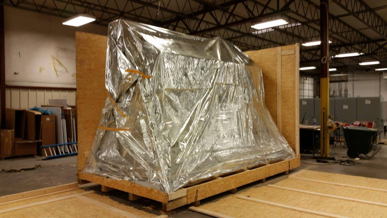 ...And here is the long-awaited uncrating.