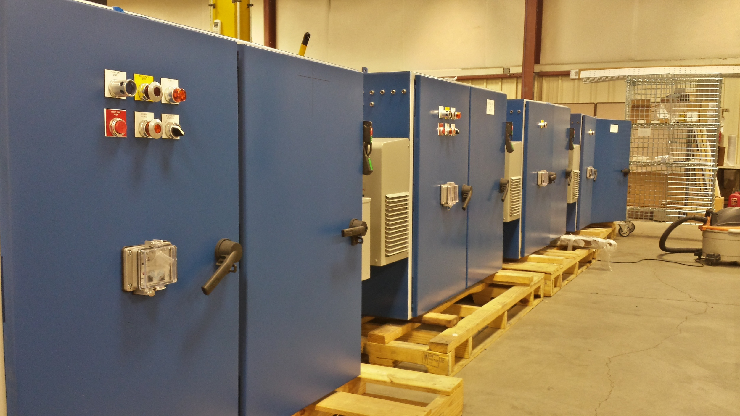 Also designed and built for Ball Packaging, these panels are headed to Chestnut Hill, TN.