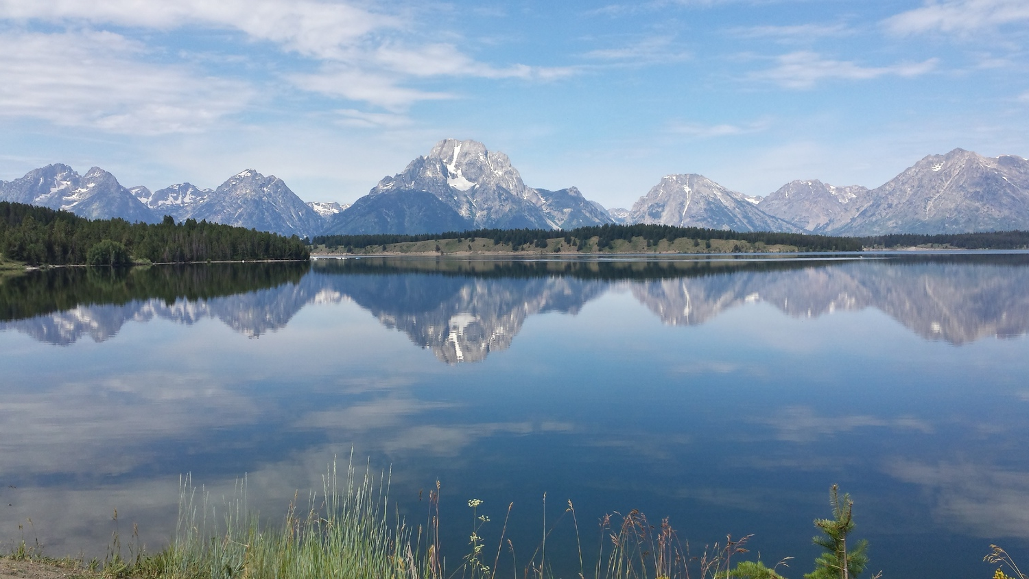 The national park is named after the tallest mountain in the Teton Range, Grand Teton.