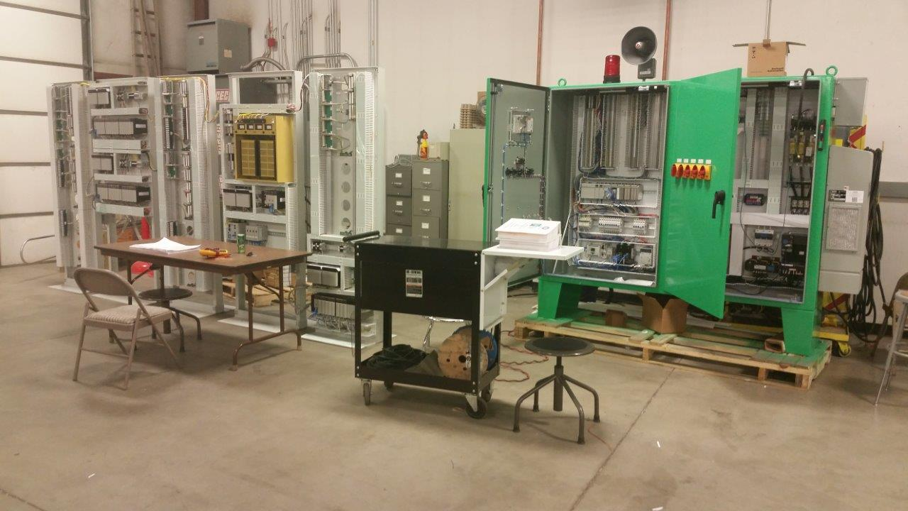 Did you know? Before a control panel leaves the UCEC shop, it is submitted to a rigorous quality control and testing process.