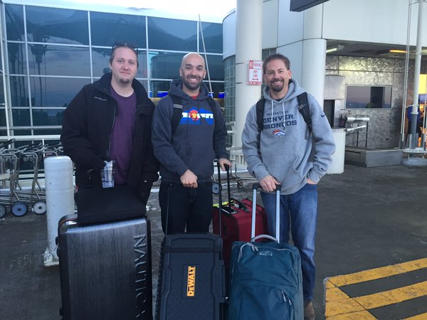 The team (and tools)at Denver International Airport.