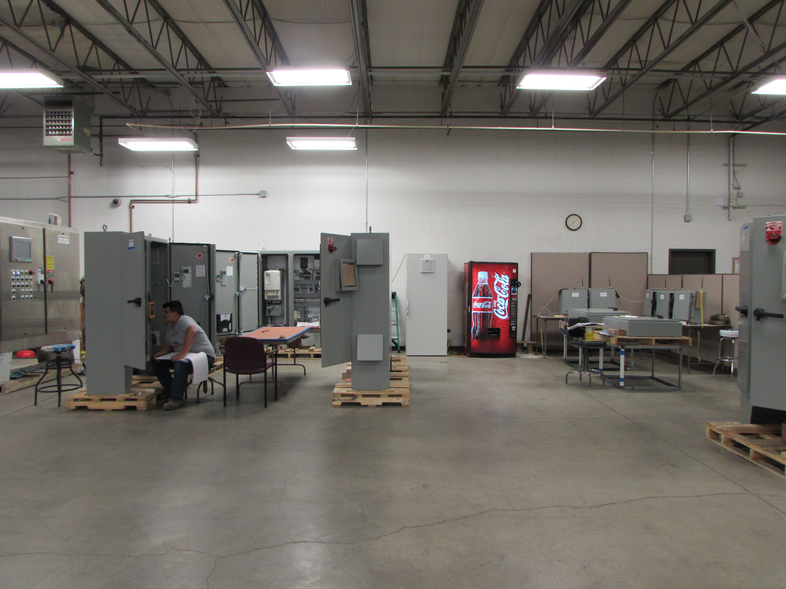 Our shop testing area is always ready for our customers!  Photos by Evan Coulter
