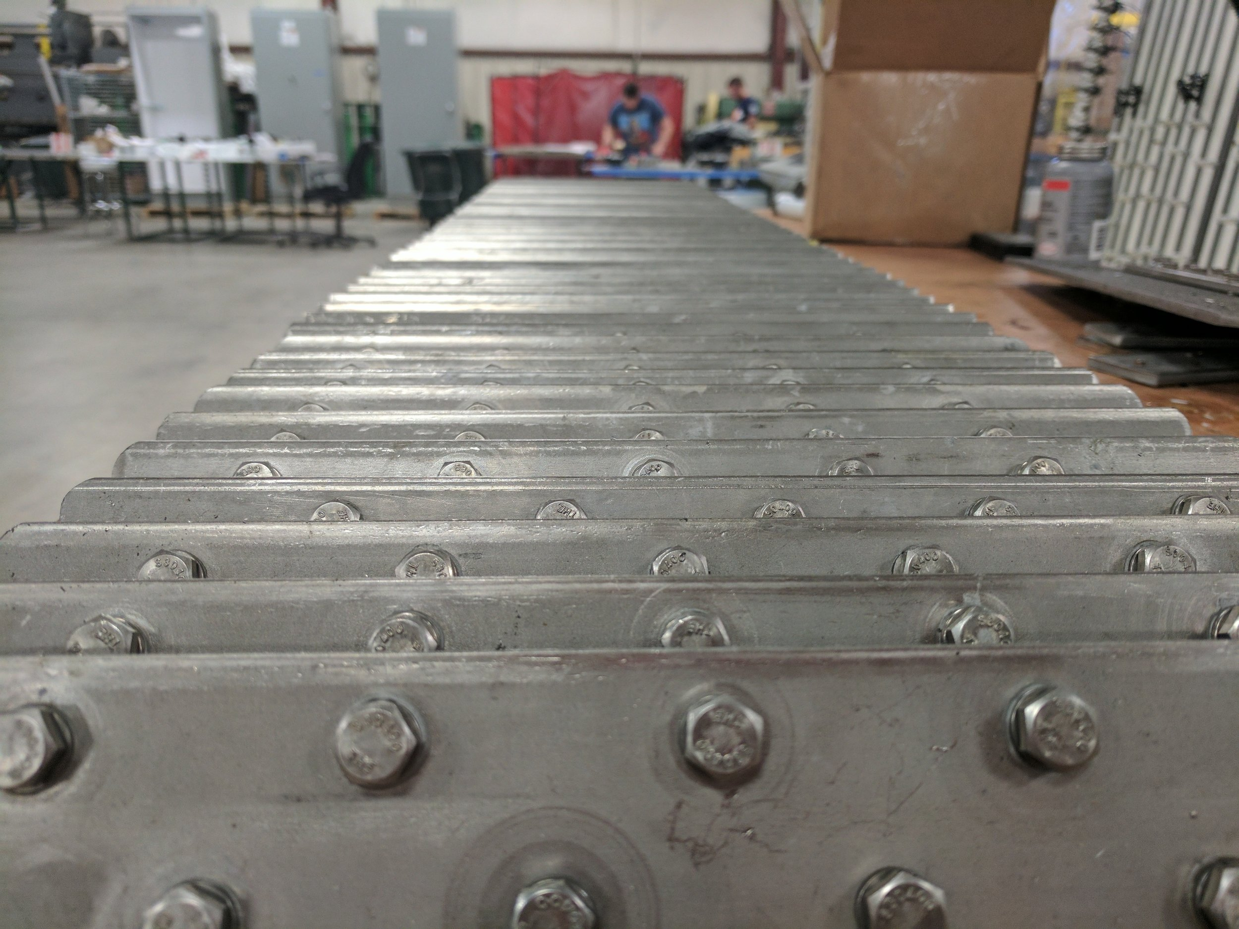 Stainless steel ground bars