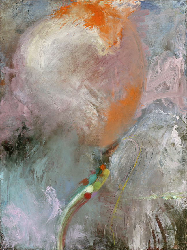 The Balloonist,  2010  oil on canvas, 24 x 18 inches