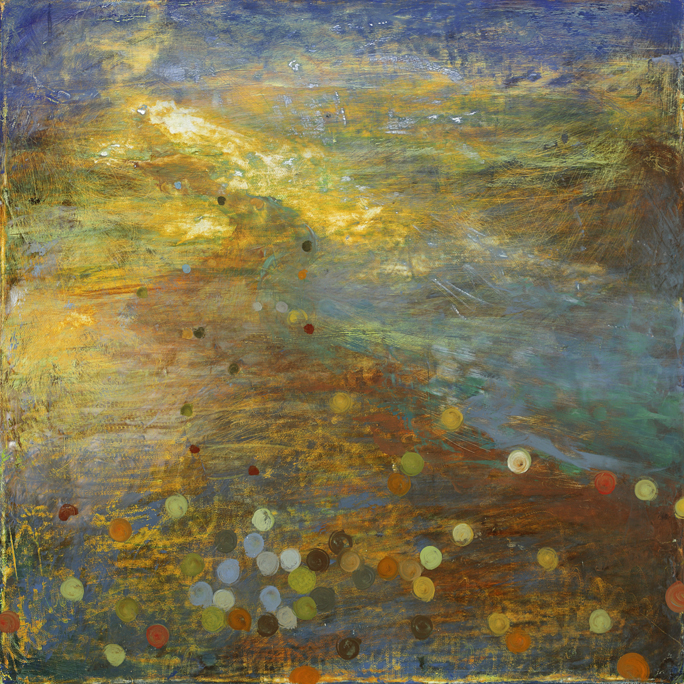 The Vapors,  2010  oil on canvas,  18 x 18 inches