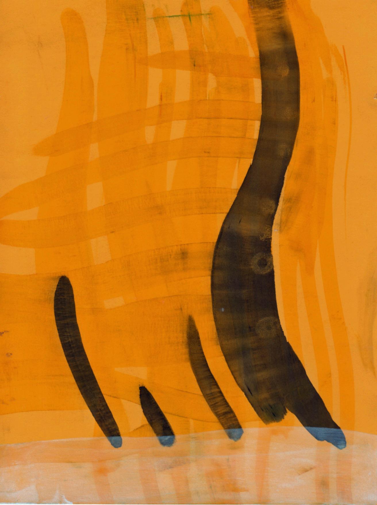 flowchart 7,  2012  ink on paper, 7 x 5 in