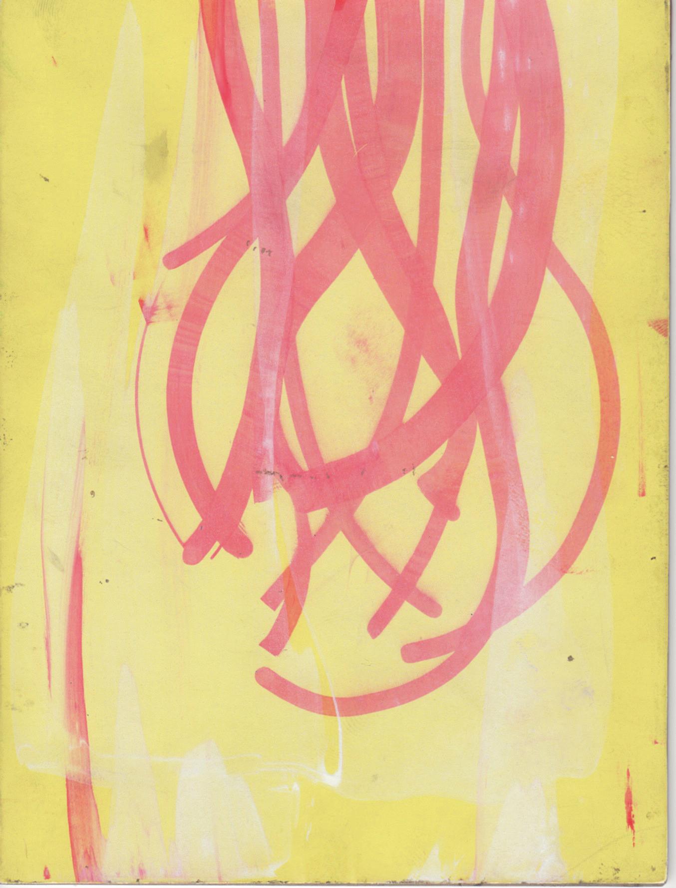 flowchart 8,  2012  ink on paper, 7 x 5 in