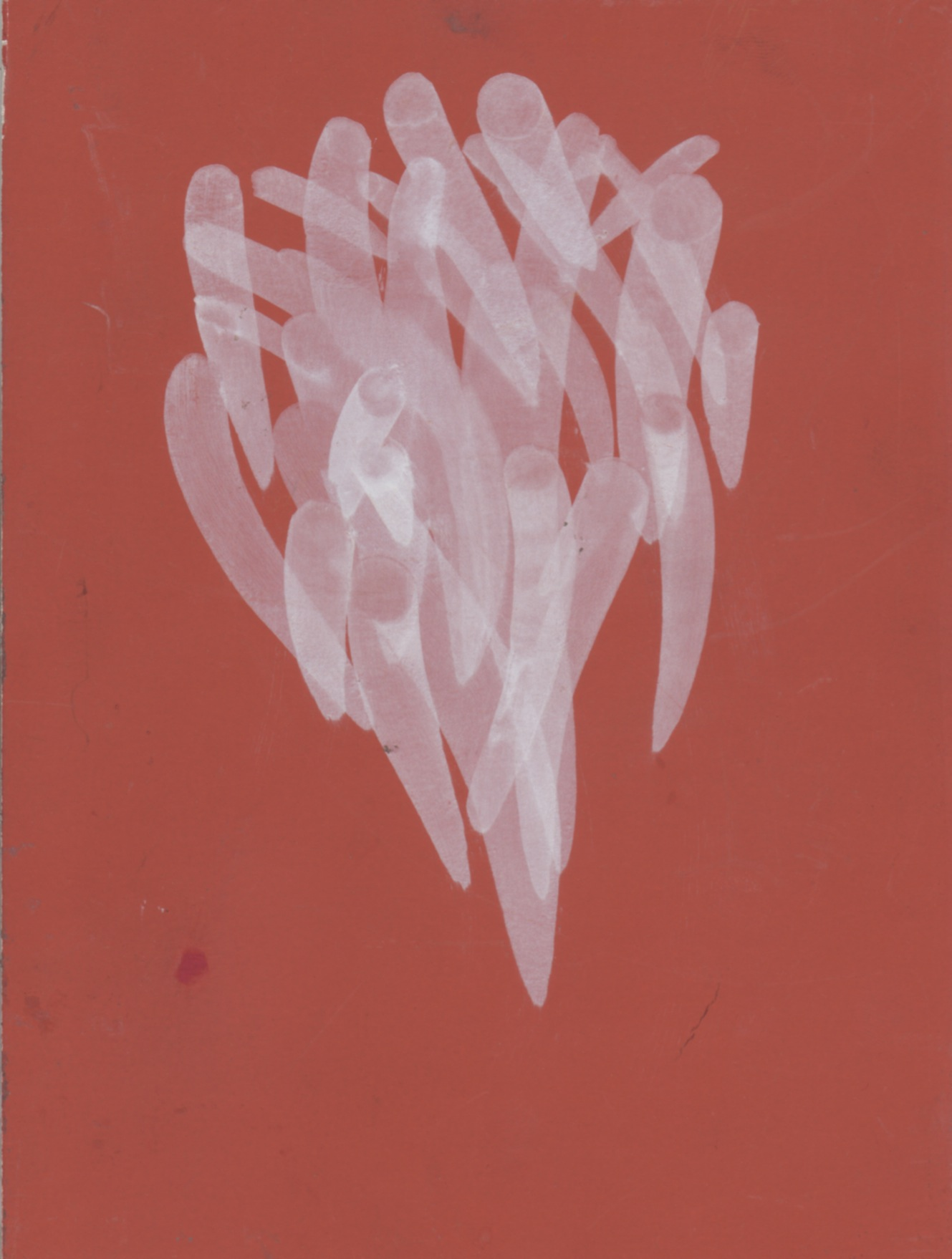 flowchart 10,  2012  ink on paper, 7 x 5 in