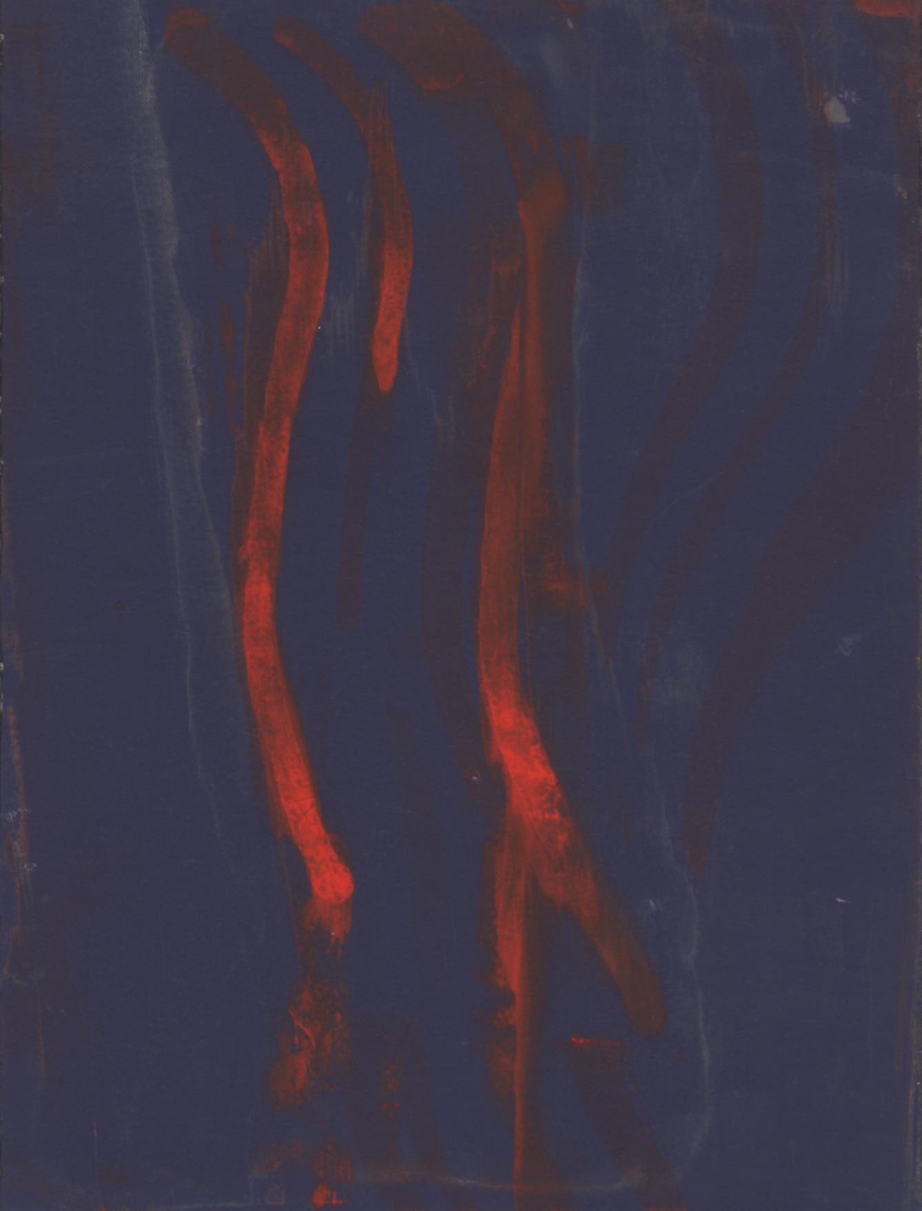 flowchart 9,  2012  ink on paper, 7 x 5 in