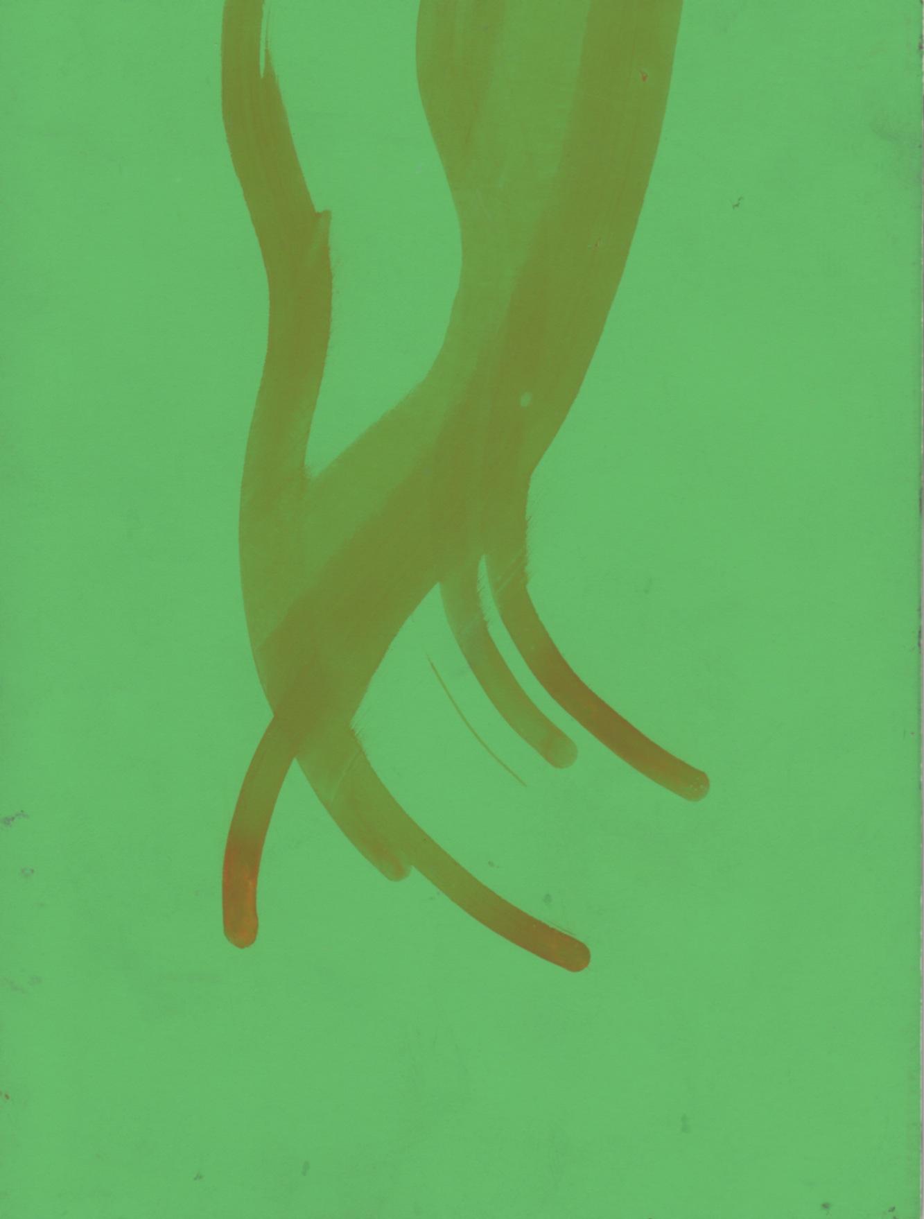 flowchart 13 , 2012  ink on paper, 7 x 5 in