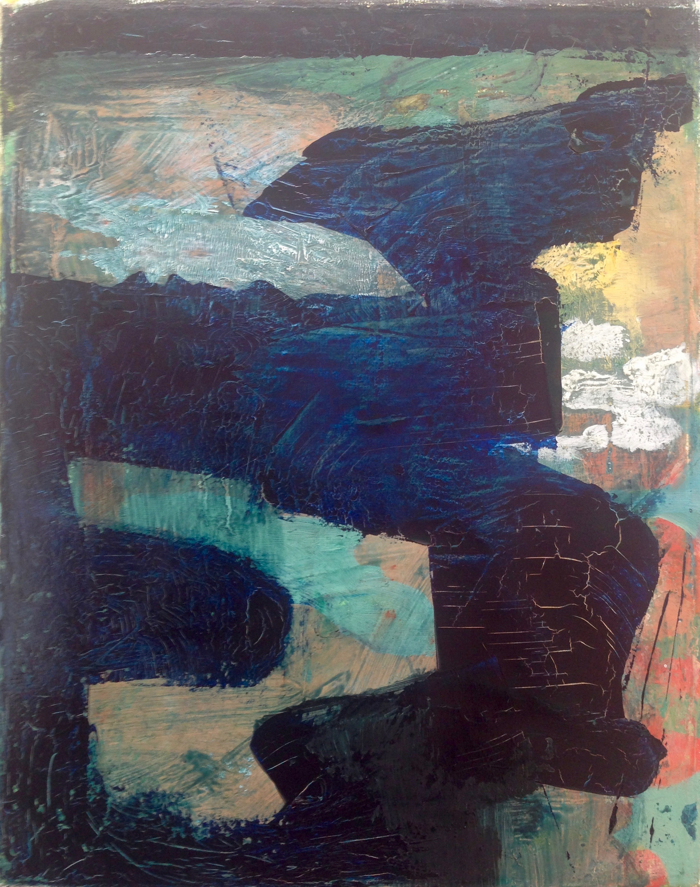 "sl2, 2017, oil on canvas, 10"" x 8"""