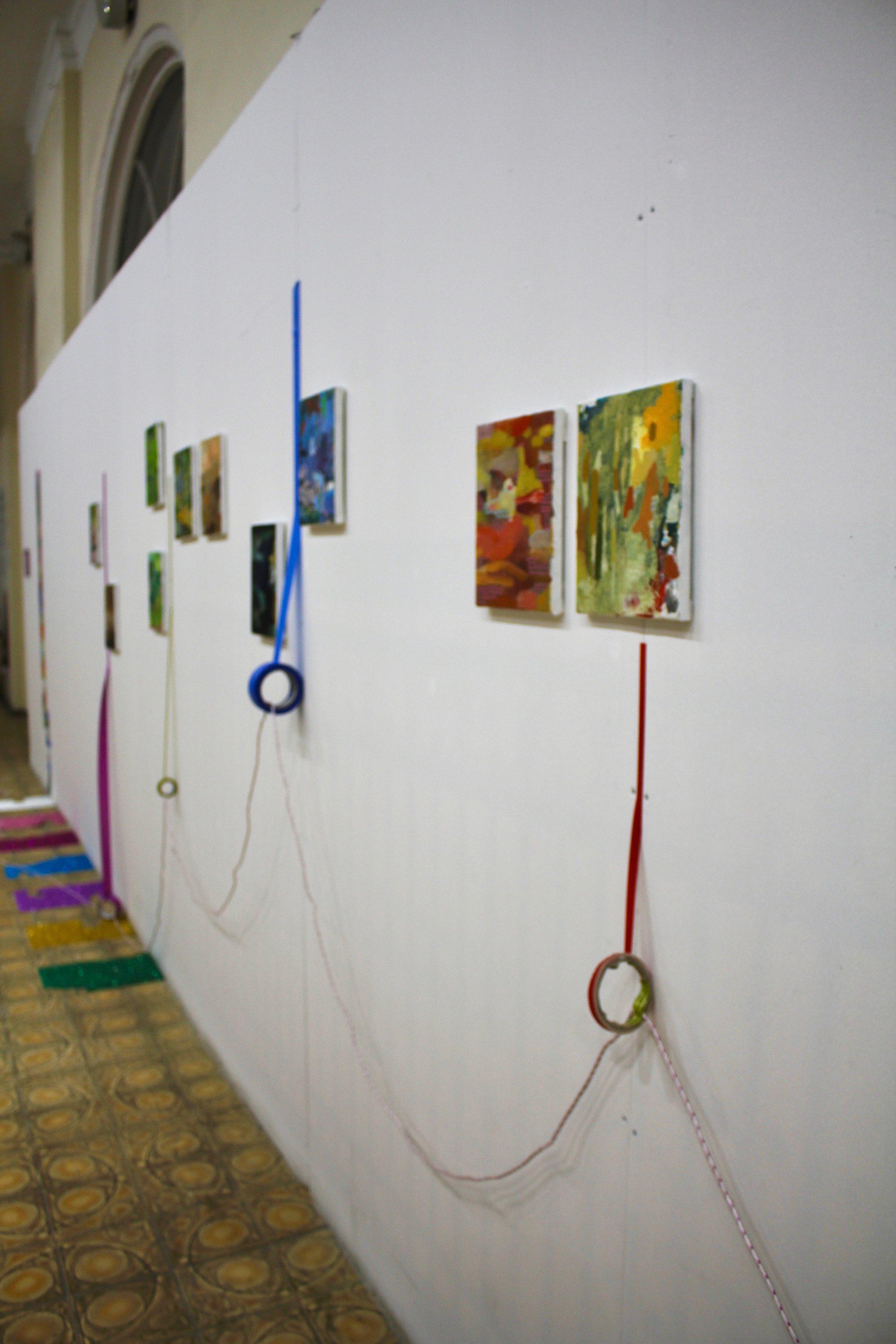 Scissor Language Installation, Karvasla Museum, Tbilisi, Georgia, November 2017