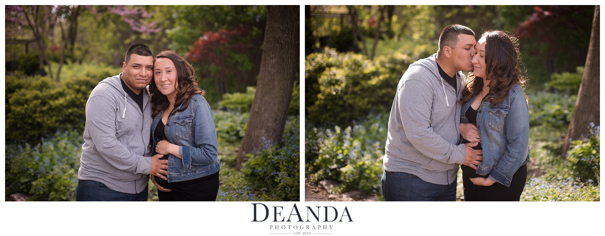 South Pond Maternity Photoshoot