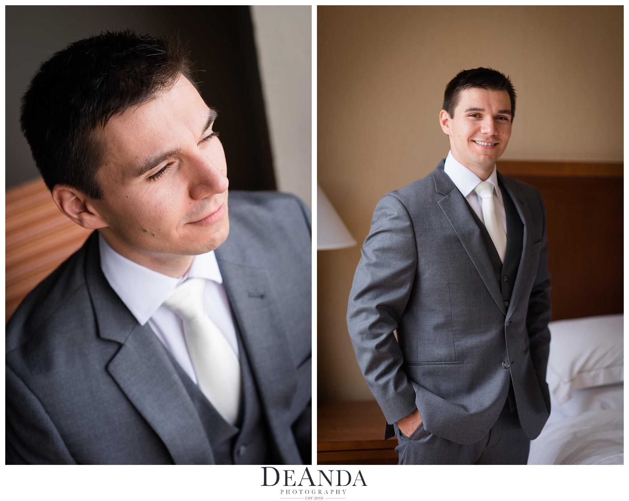 grooms portrait