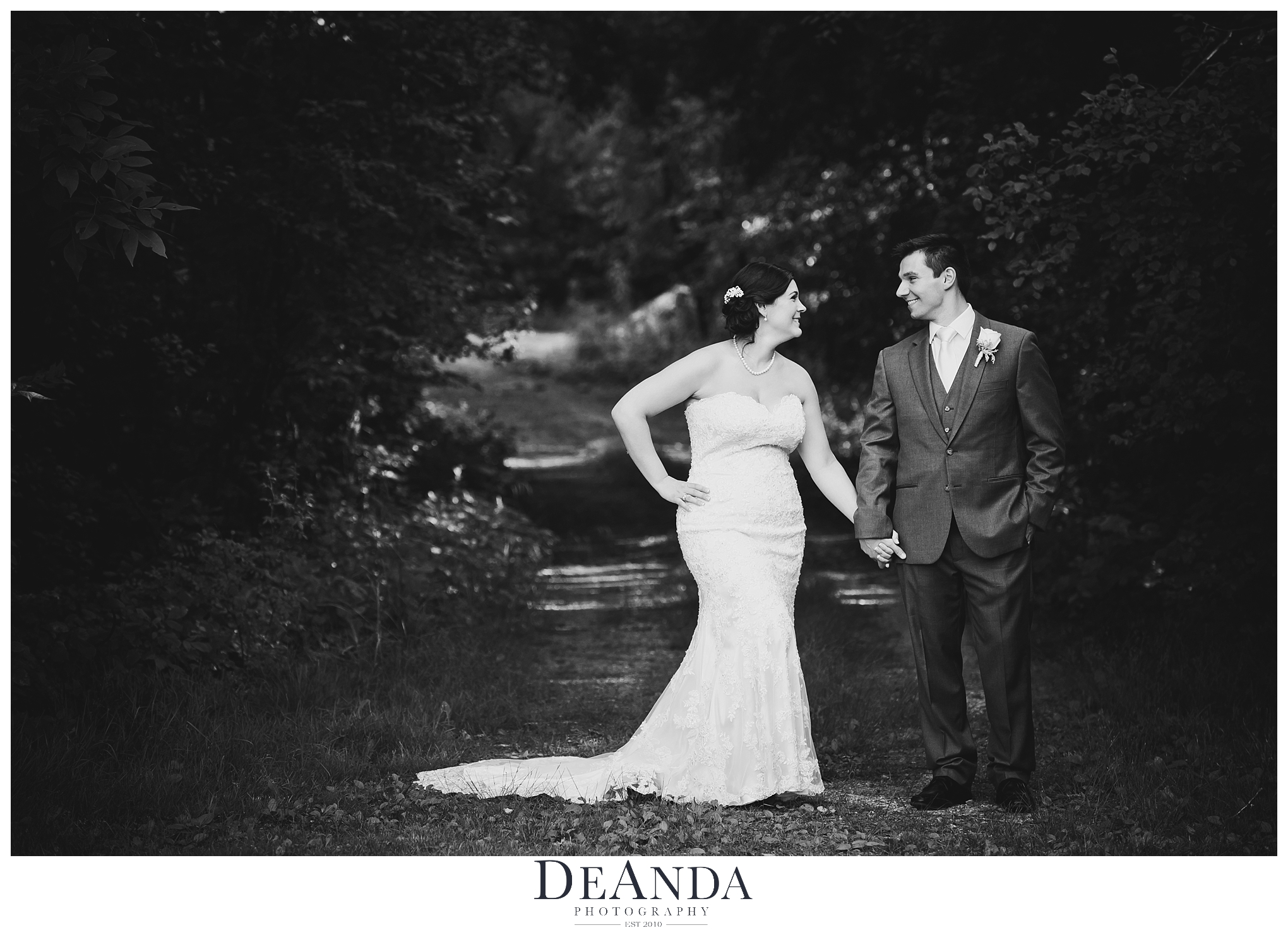 oak brook bath and tennis club wedding couple