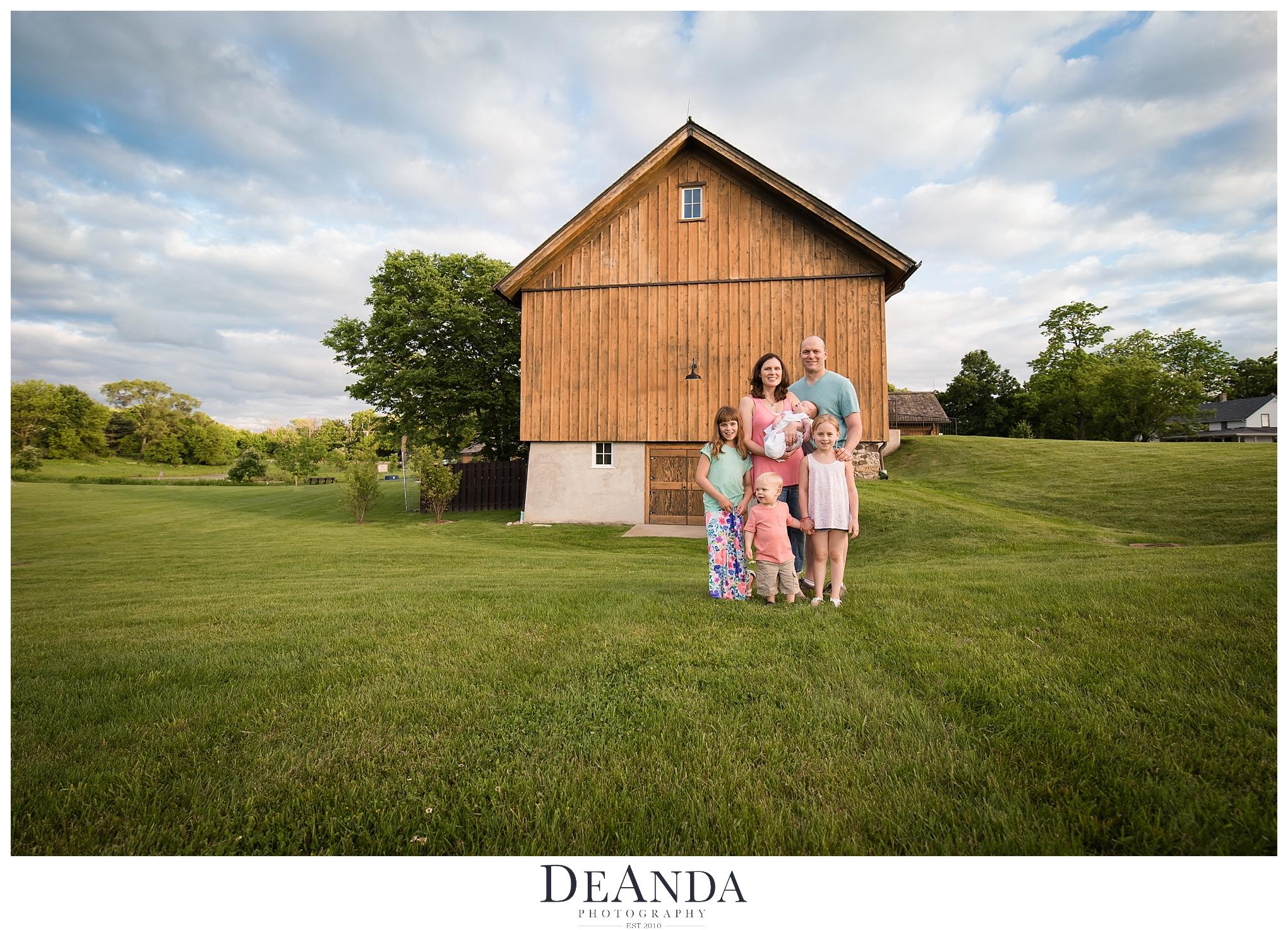 Vehe Barn Family Photo