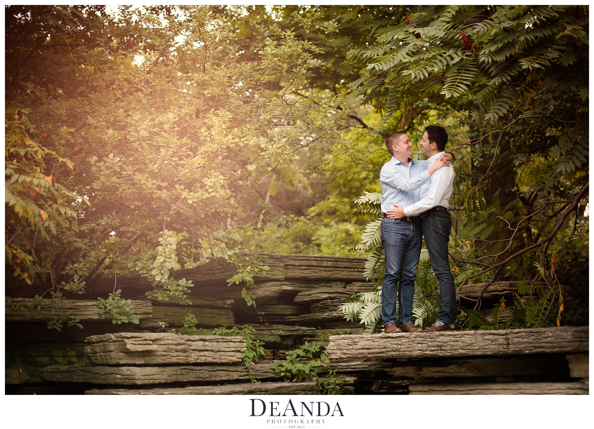 Same Sex Engagement Photography in Chicago