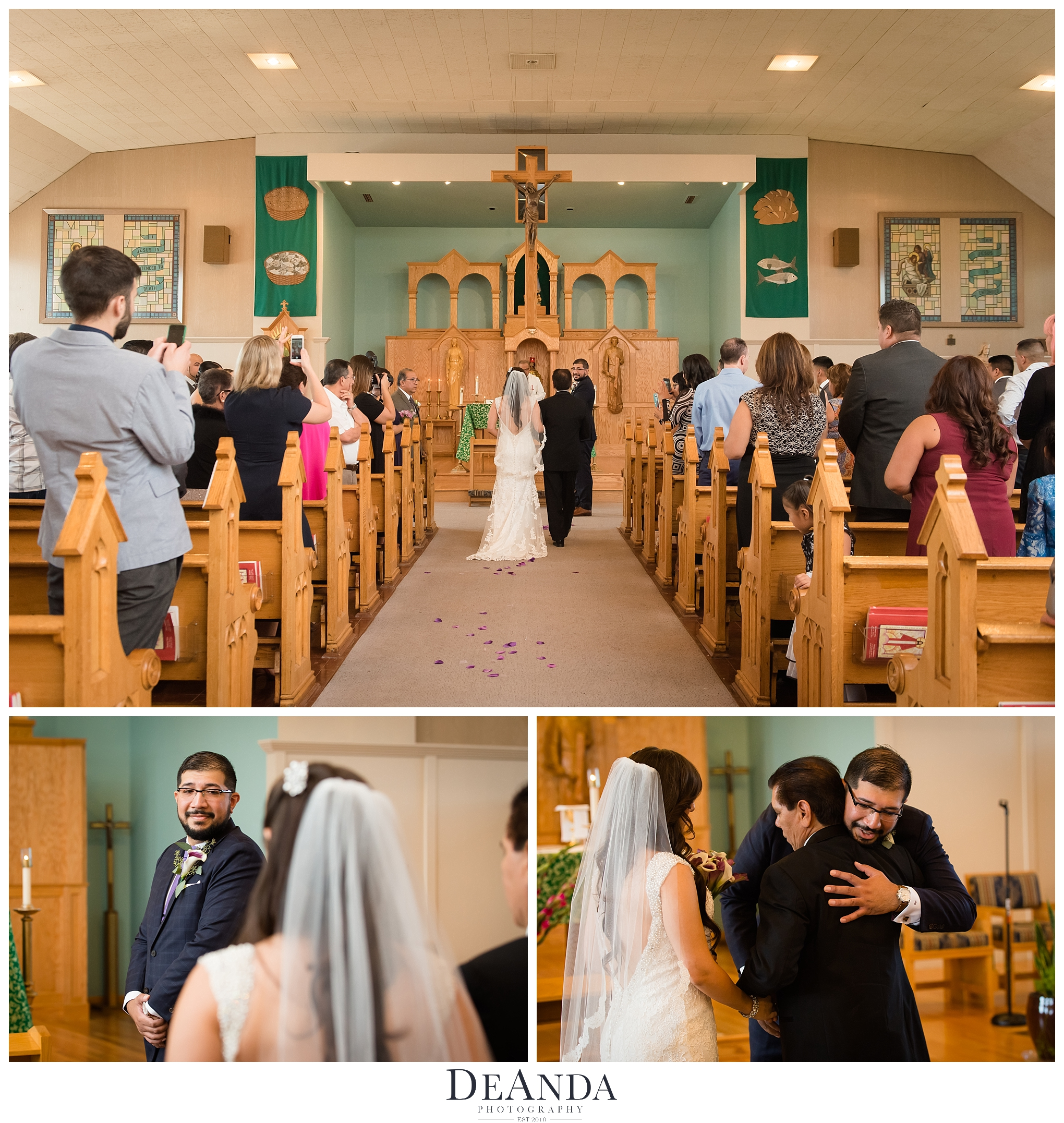 our lady of charity wedding images