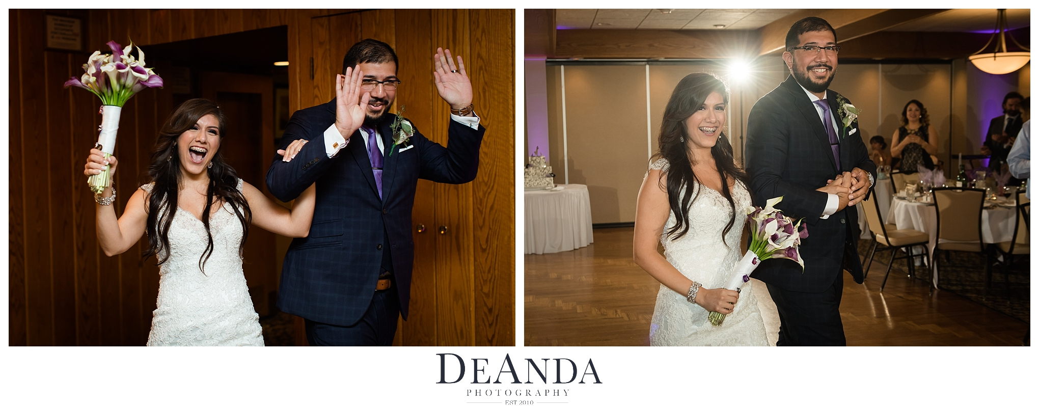 silver lake country club orland park wedding photos at reception