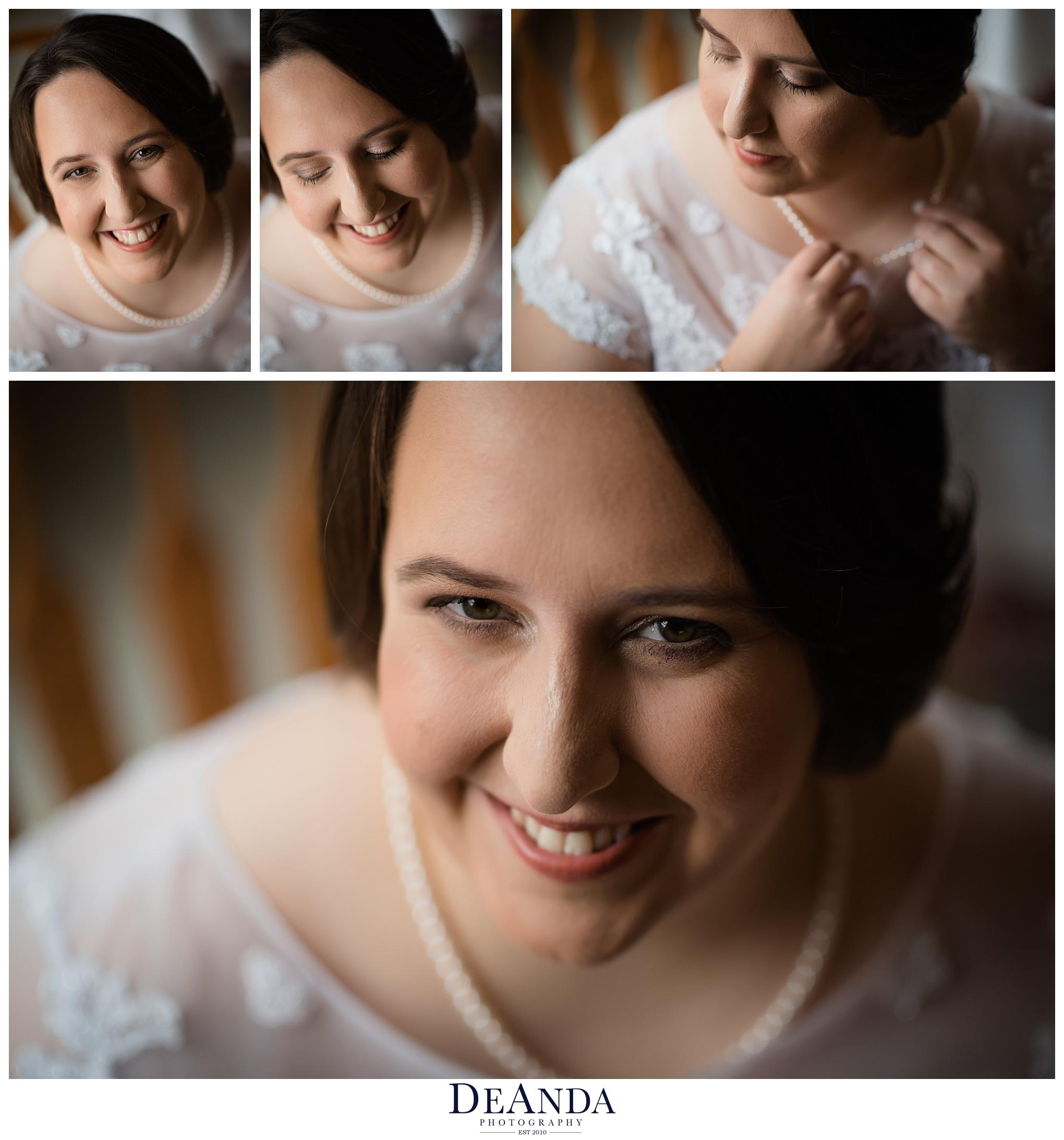 bridal portraits of same sex couple