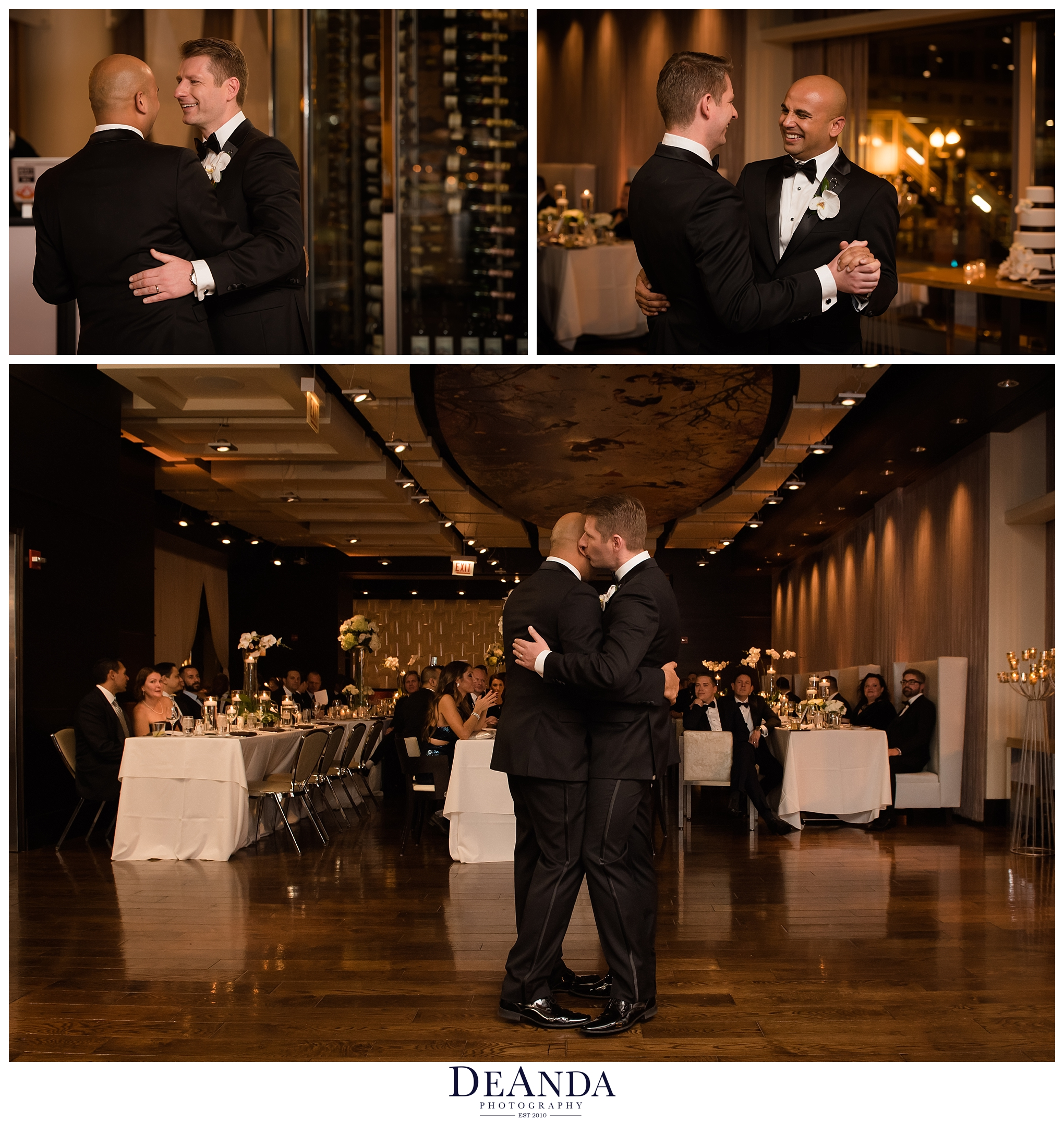 grooms first dance at the wit chicago