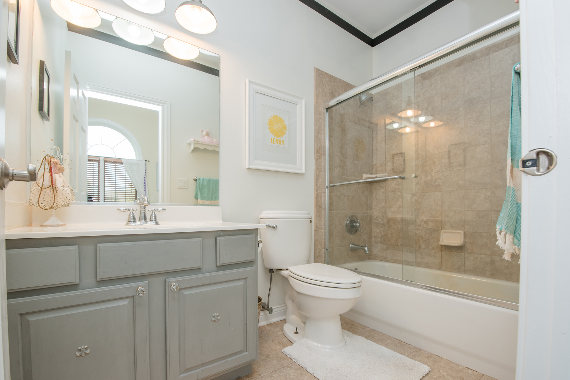 Real Estate Photography of Bathroom