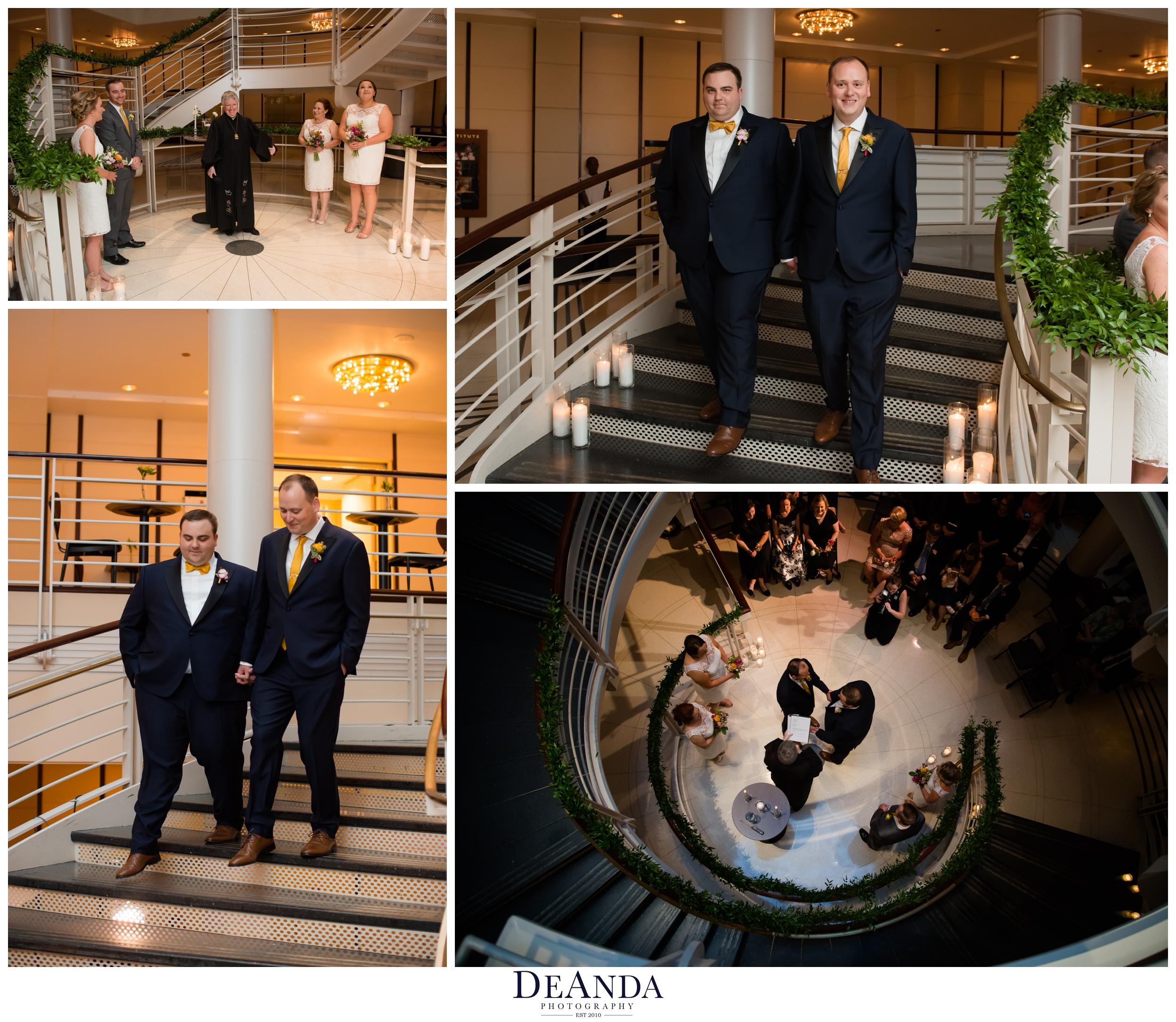 symphony center Chicago wedding ceremony