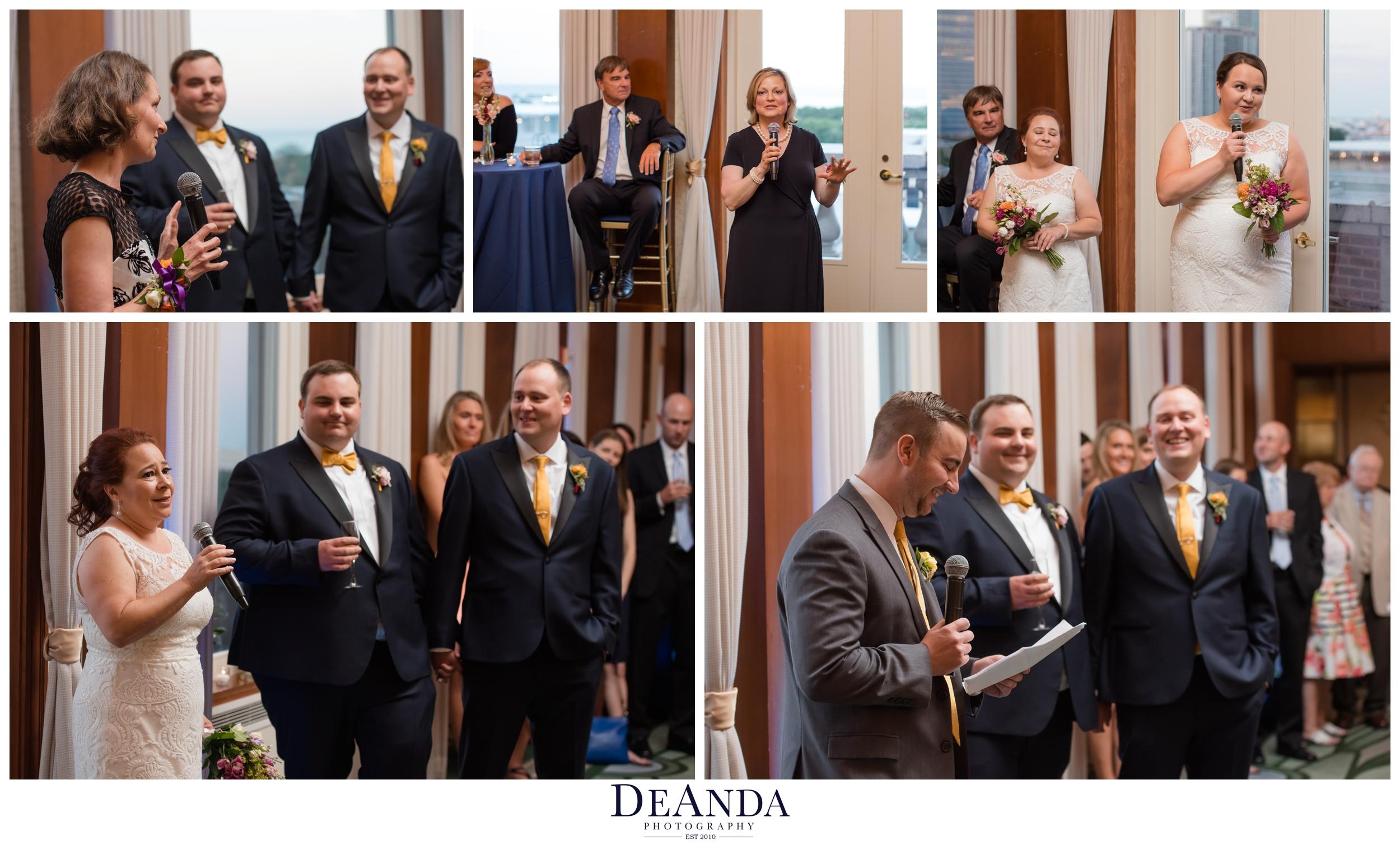 speeches at chicago symphony wedding