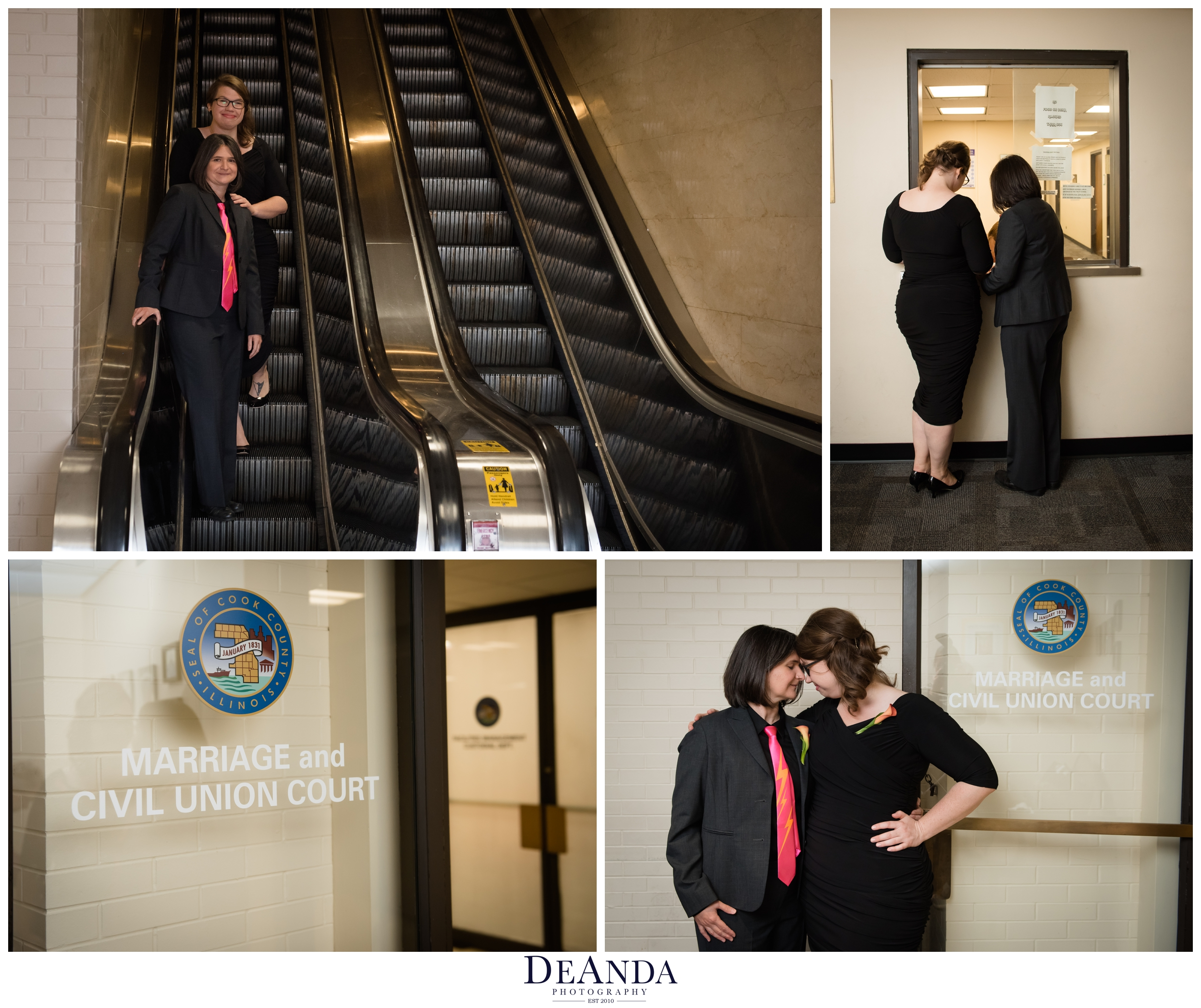 Chicago city hall same sex wedding