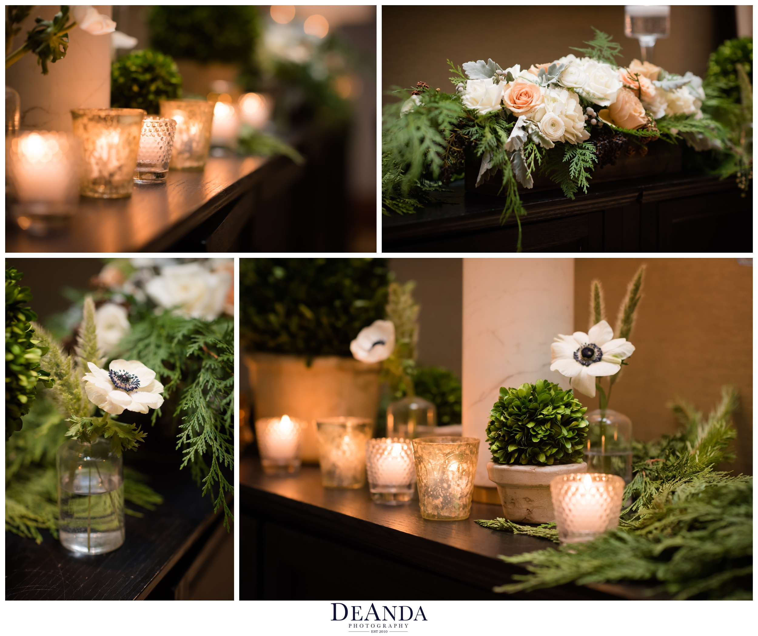 Small wedding at The Dining Room at Tree Studios Chicago