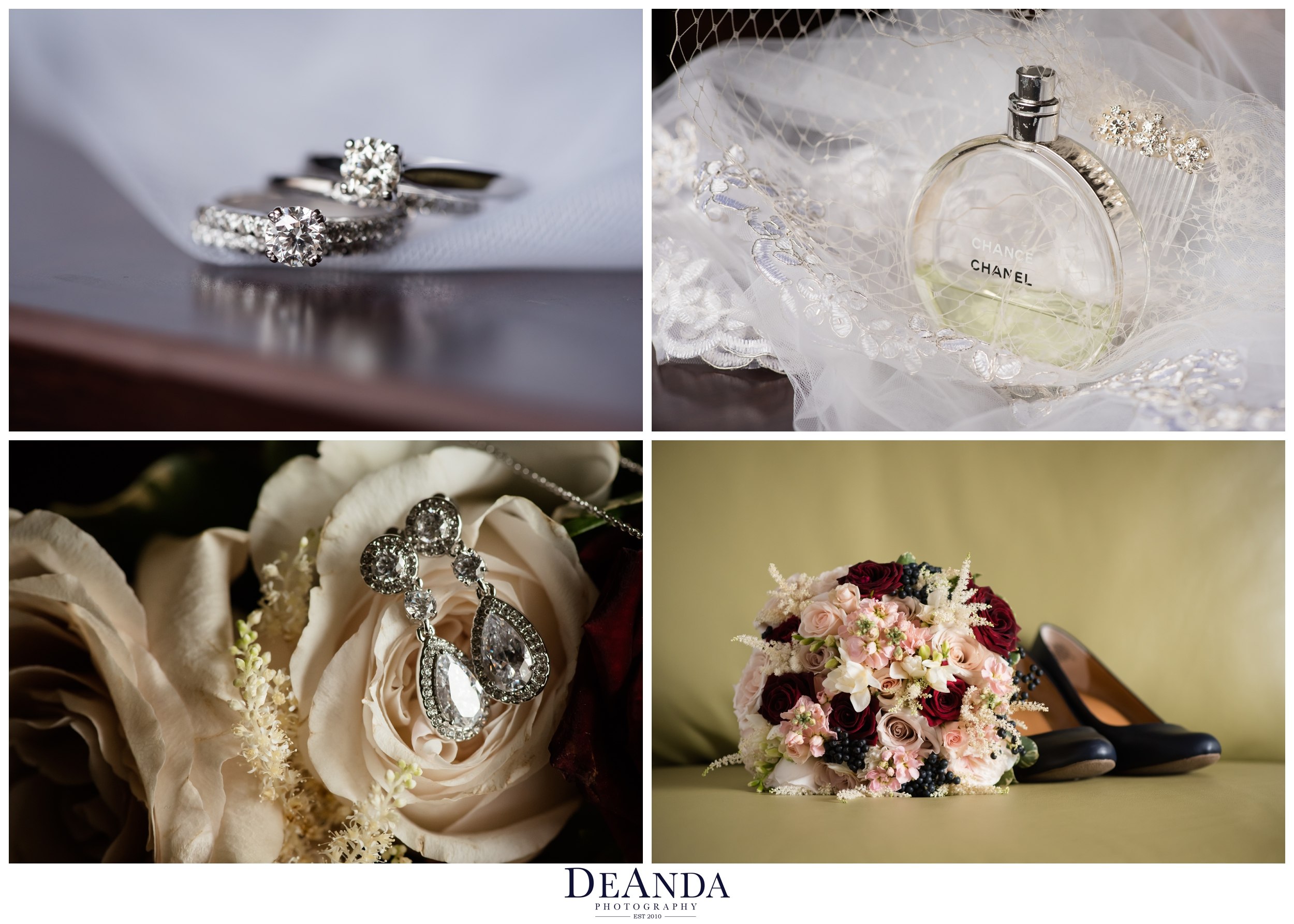 wedding details of two brides