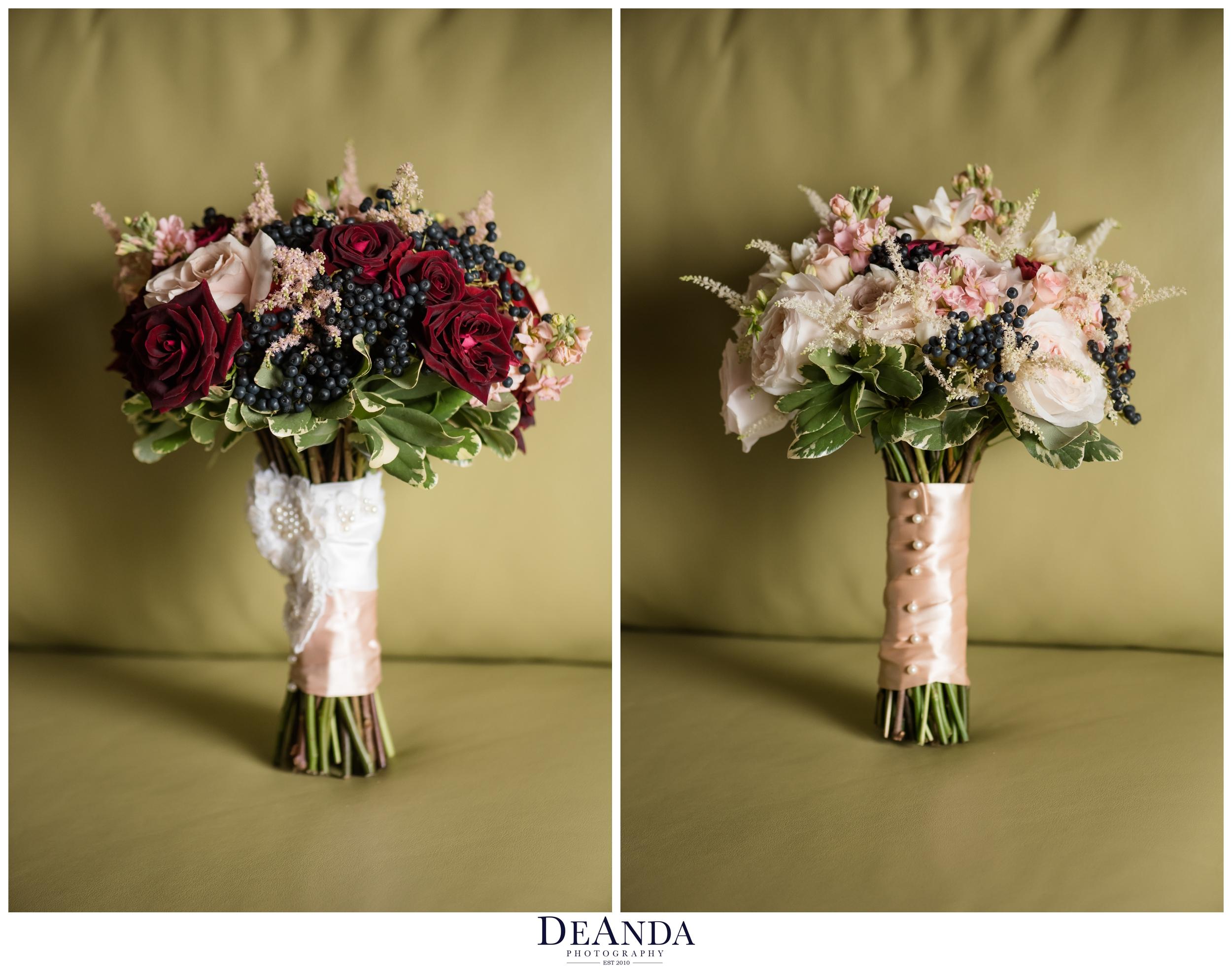 same sex wedding bouquets