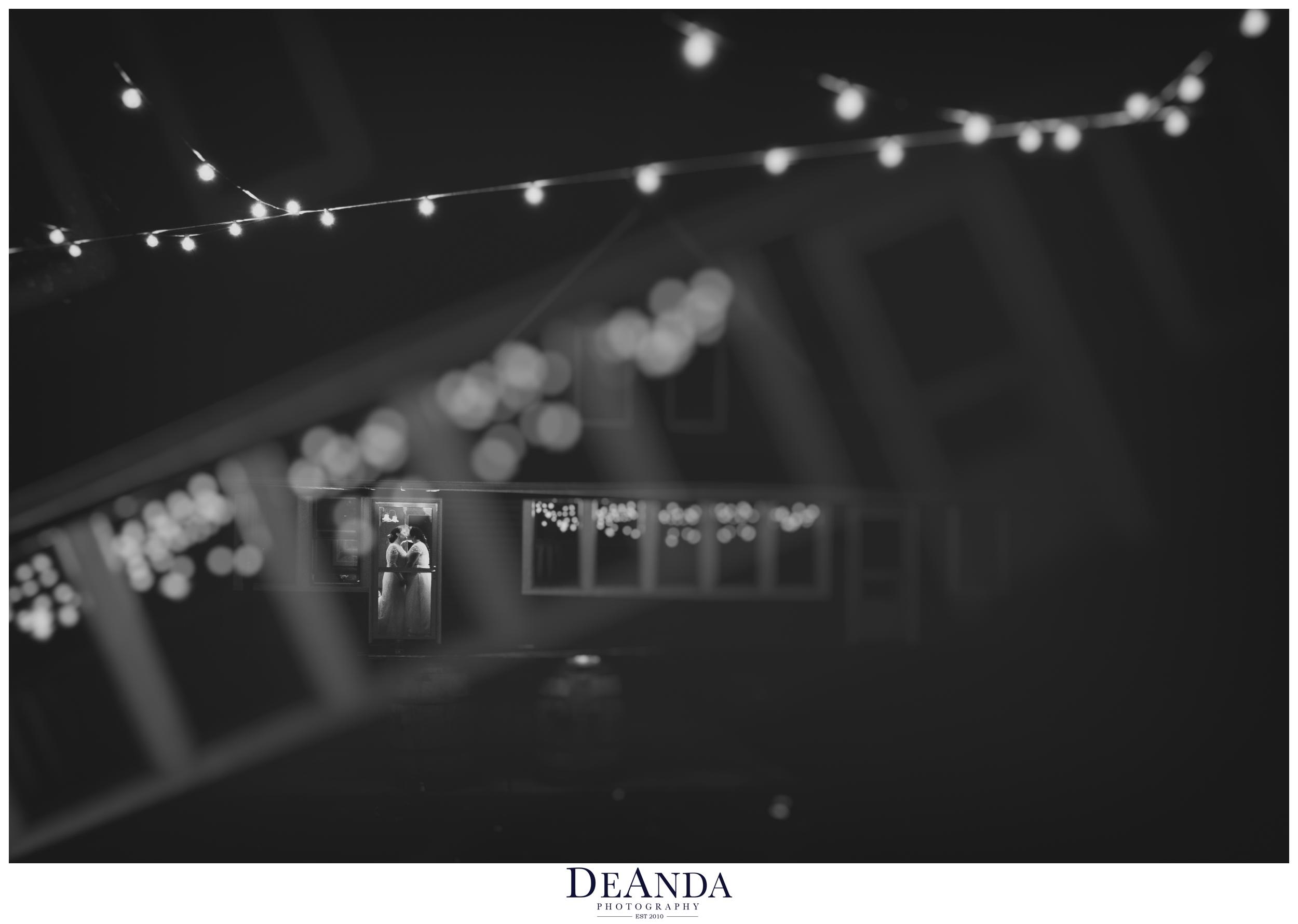 Fine art wedding photography of same sex wedding couple two brides