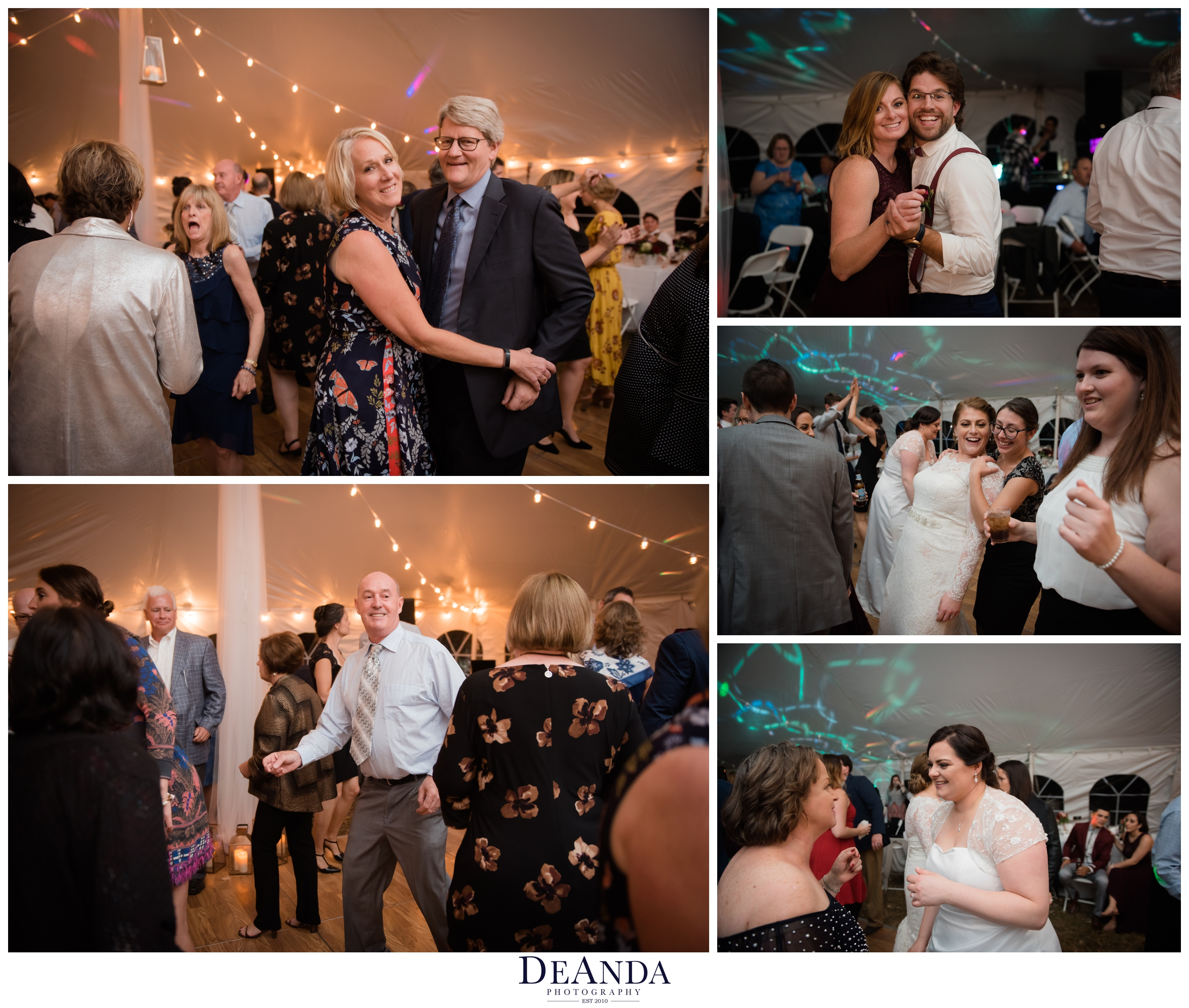 reception of same sex wedding outside of Chicago in the suburbs