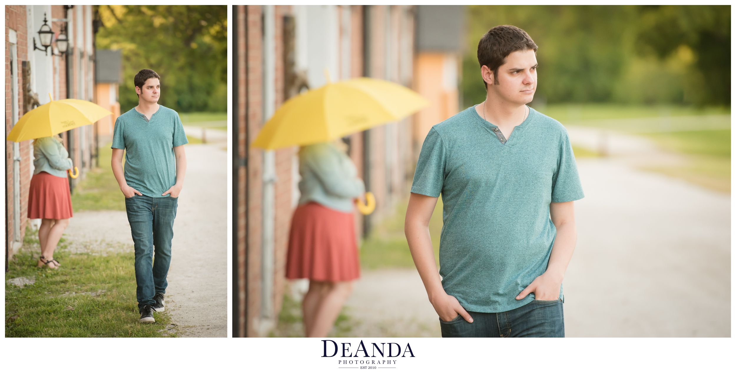"""This couple bonded over """"How I Met Your Mother"""" So we incorporated the iconic yellow umbrella"""