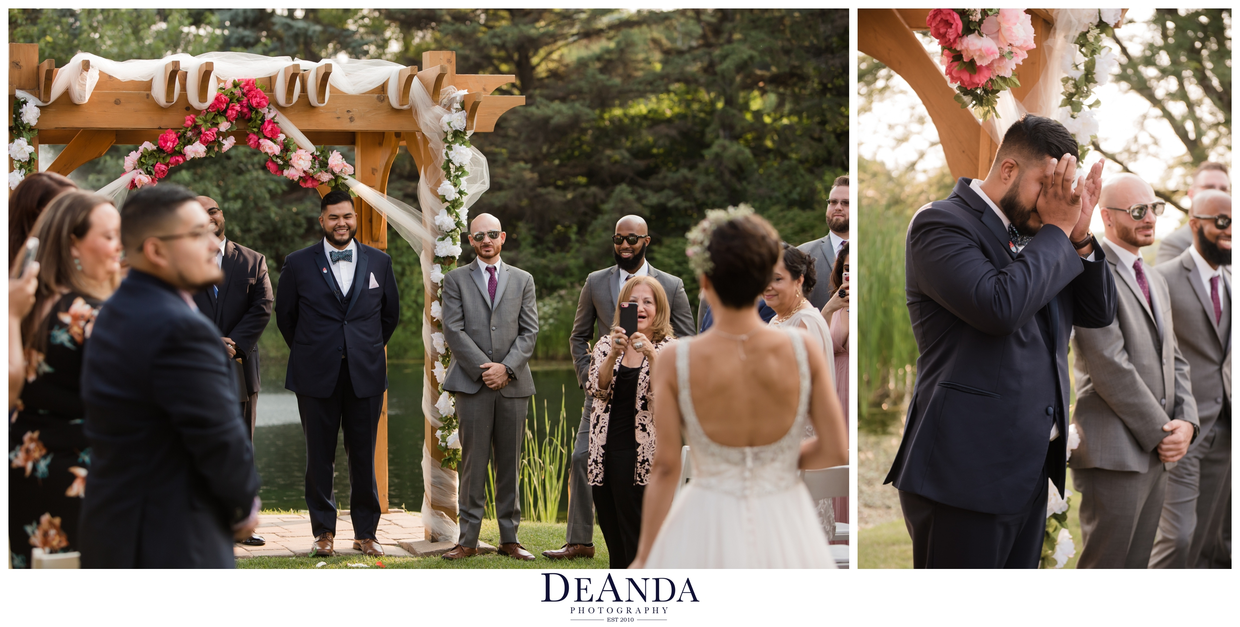 Villa Olivia Summer Wedding