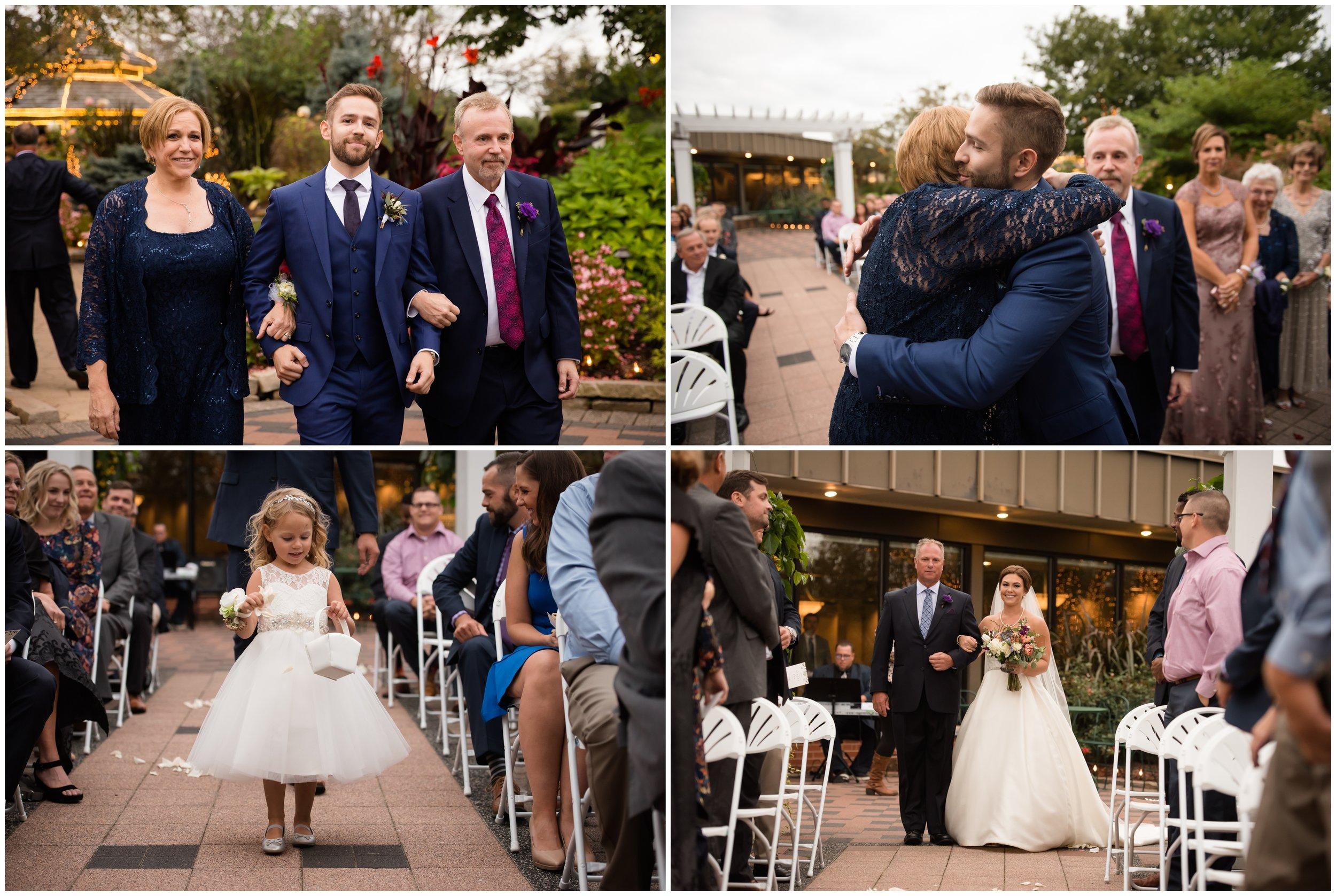 Silver Lake Country Club Wedding Ceremony