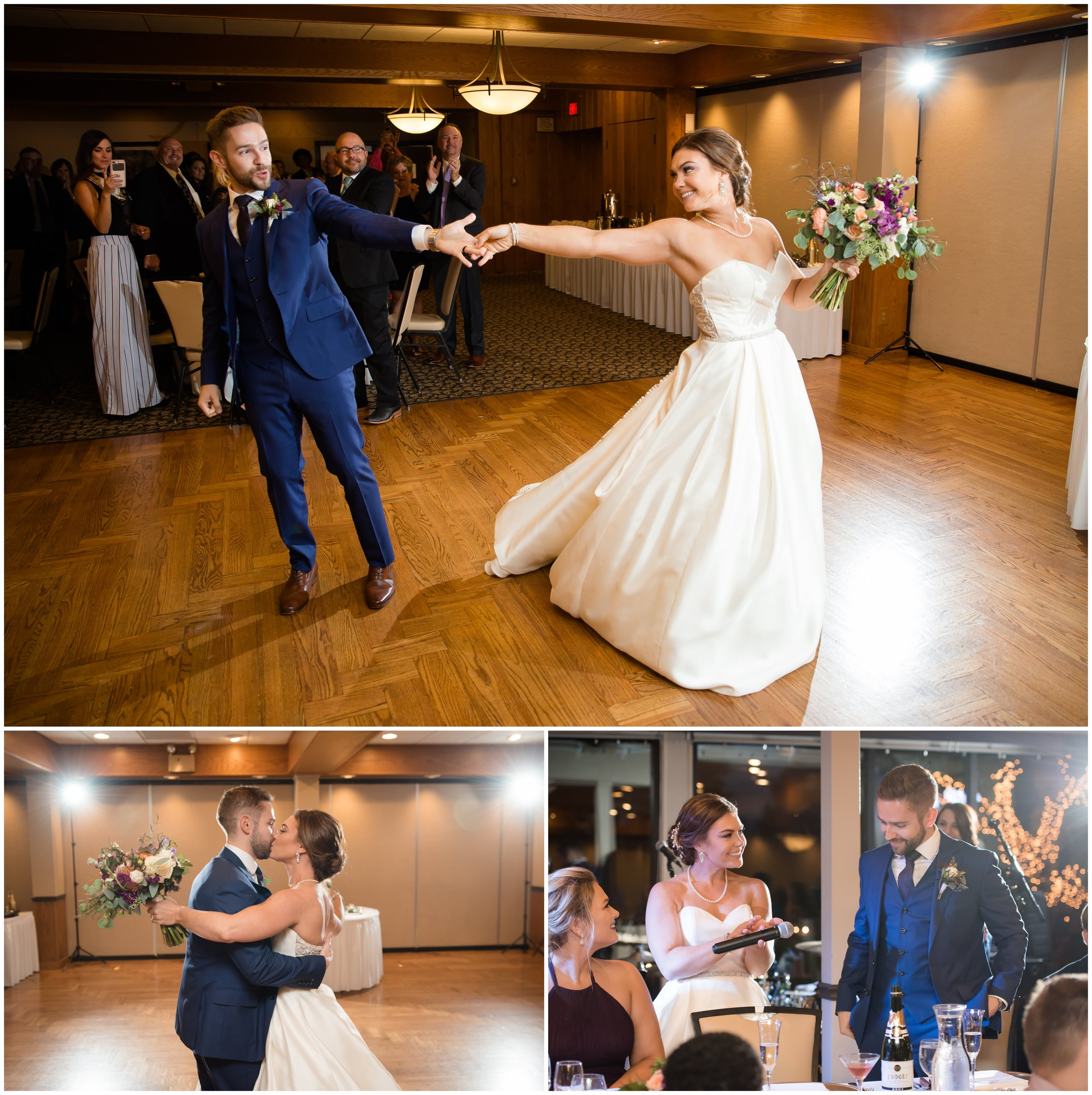 Silver Lake Country Club Wedding Introductions