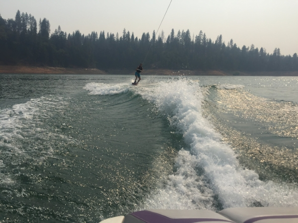 Wakeboarding Shasta