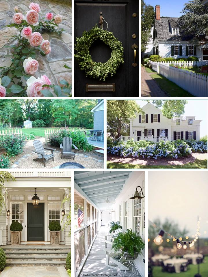 EB Loves Old Houses | Morganton Exterior Inspiration Board