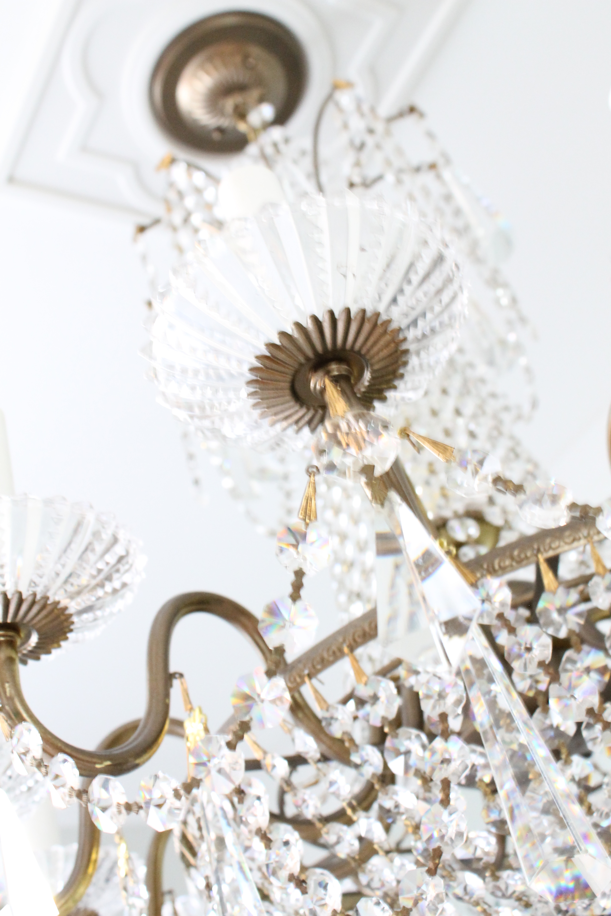 EB Loves Old Houses | How to Clean a Chandelier