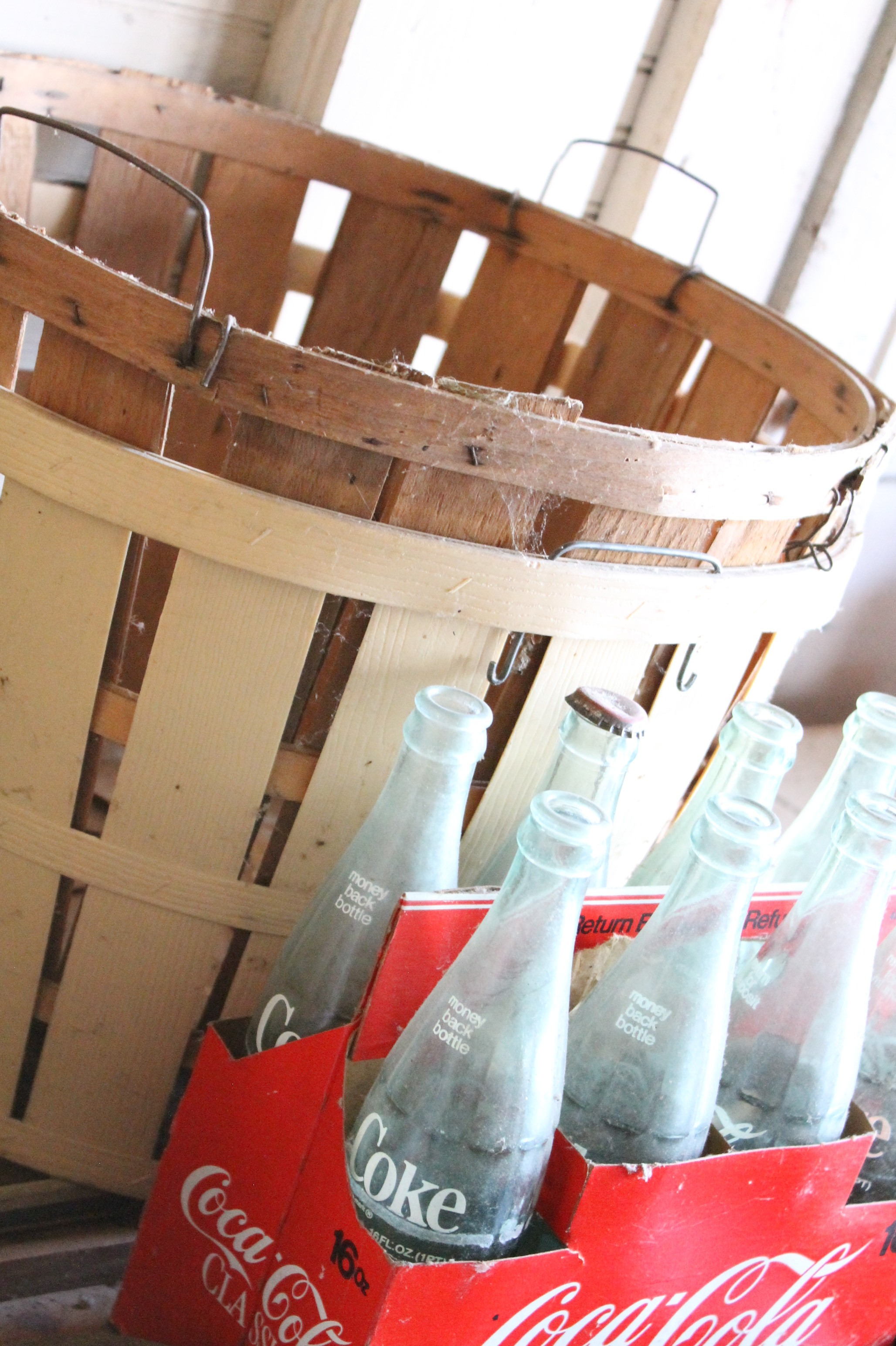 EB Loves Old Houses | Vintage Coke Bottles
