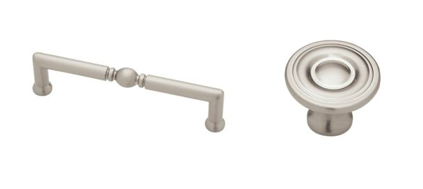 EB Loves Old Houses | Satin Nickel Drawer Pulls and Knobs