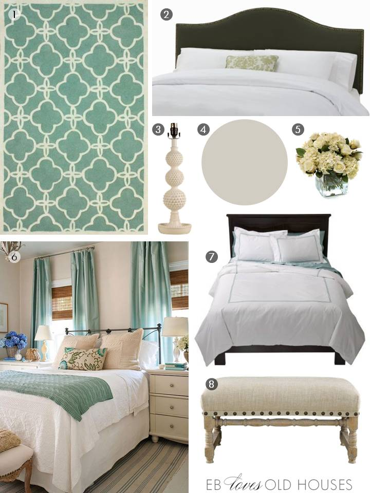 EB Loves Old Houses | Guest Bedroom Design Inspiration