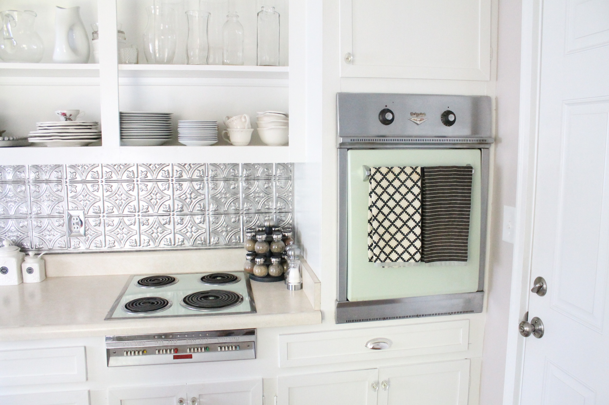 EB Loves Old Houses | How to Add Trim to Old Cabinets