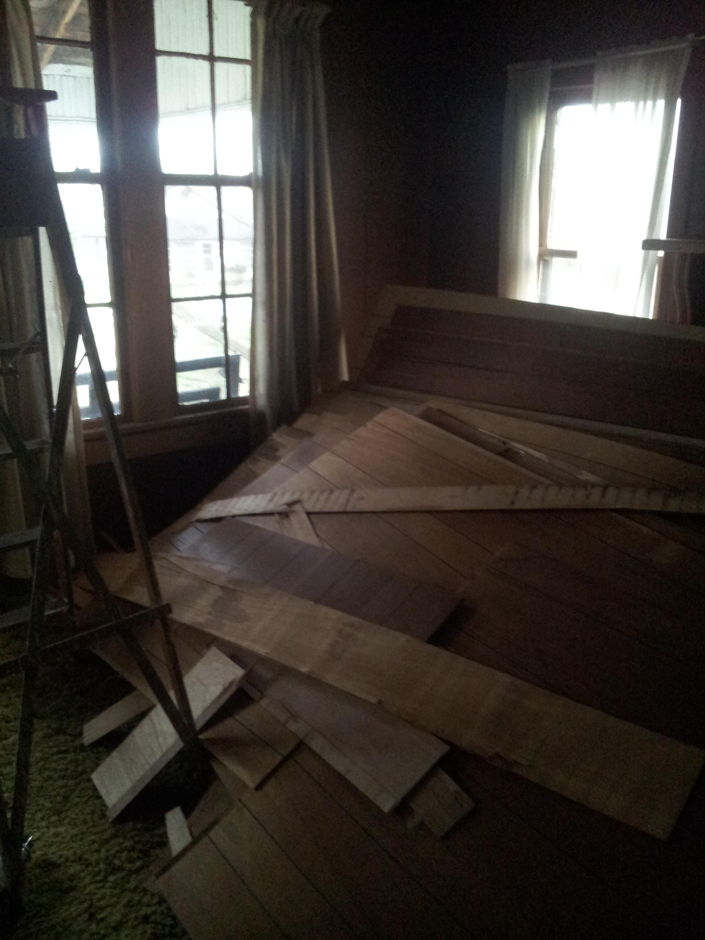 EB Loves Old Houses | Removing Wood Paneling