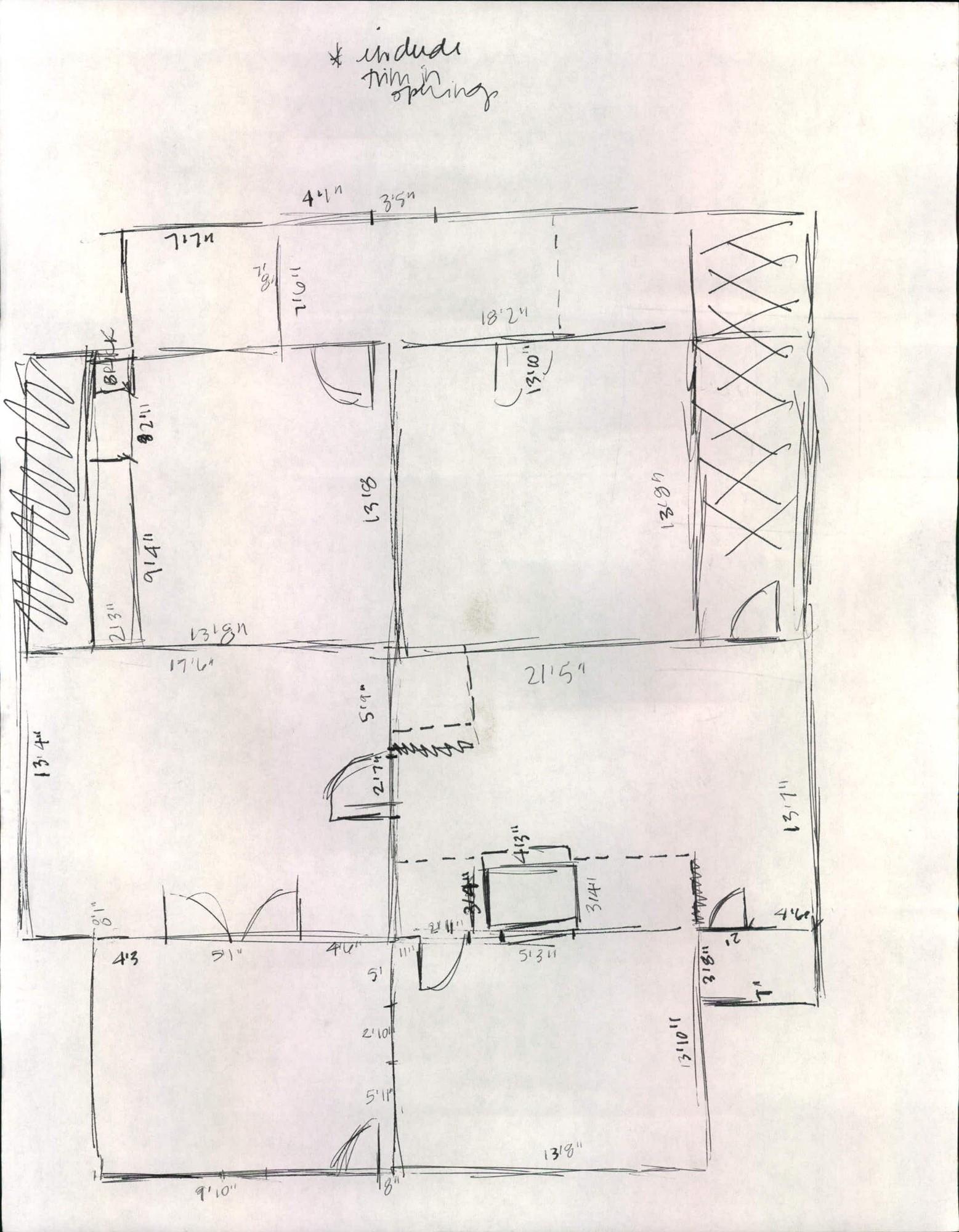 Actual Floorplan Myrtle House Elizabeth Burns Design Raleigh Nc Interior Designer